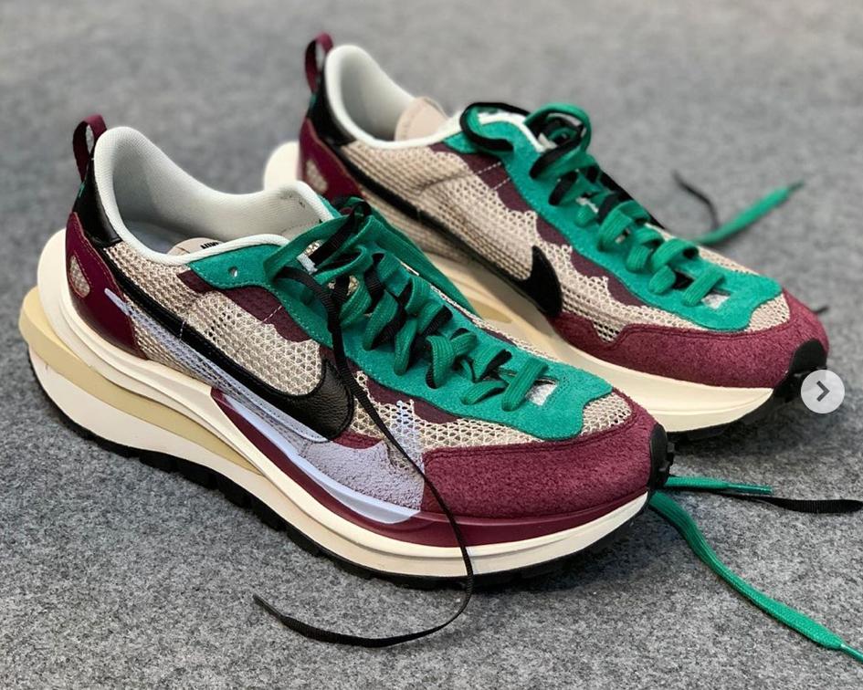 Die besten Sneaker Collaborations der AW20 Men's Fashion Week: Nike X Sacai