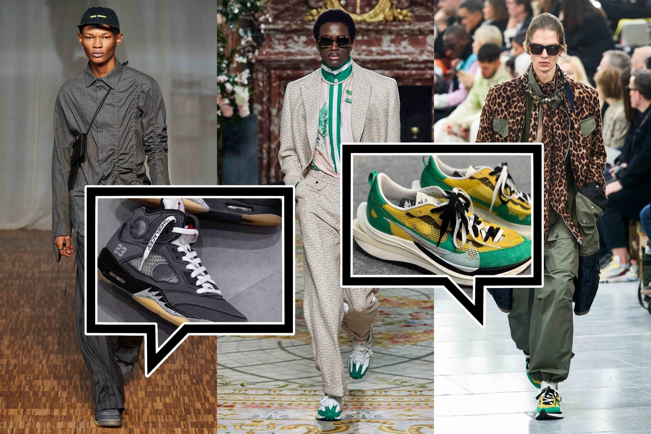 Die besten Sneaker Collaborations der AW20 Men's Fashion Week