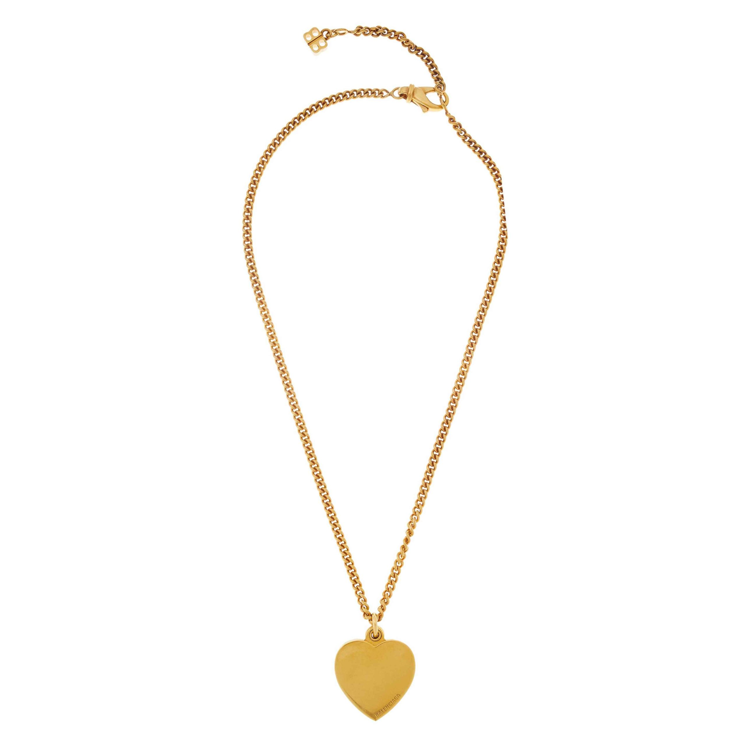 Balenciaga Heart Necklace