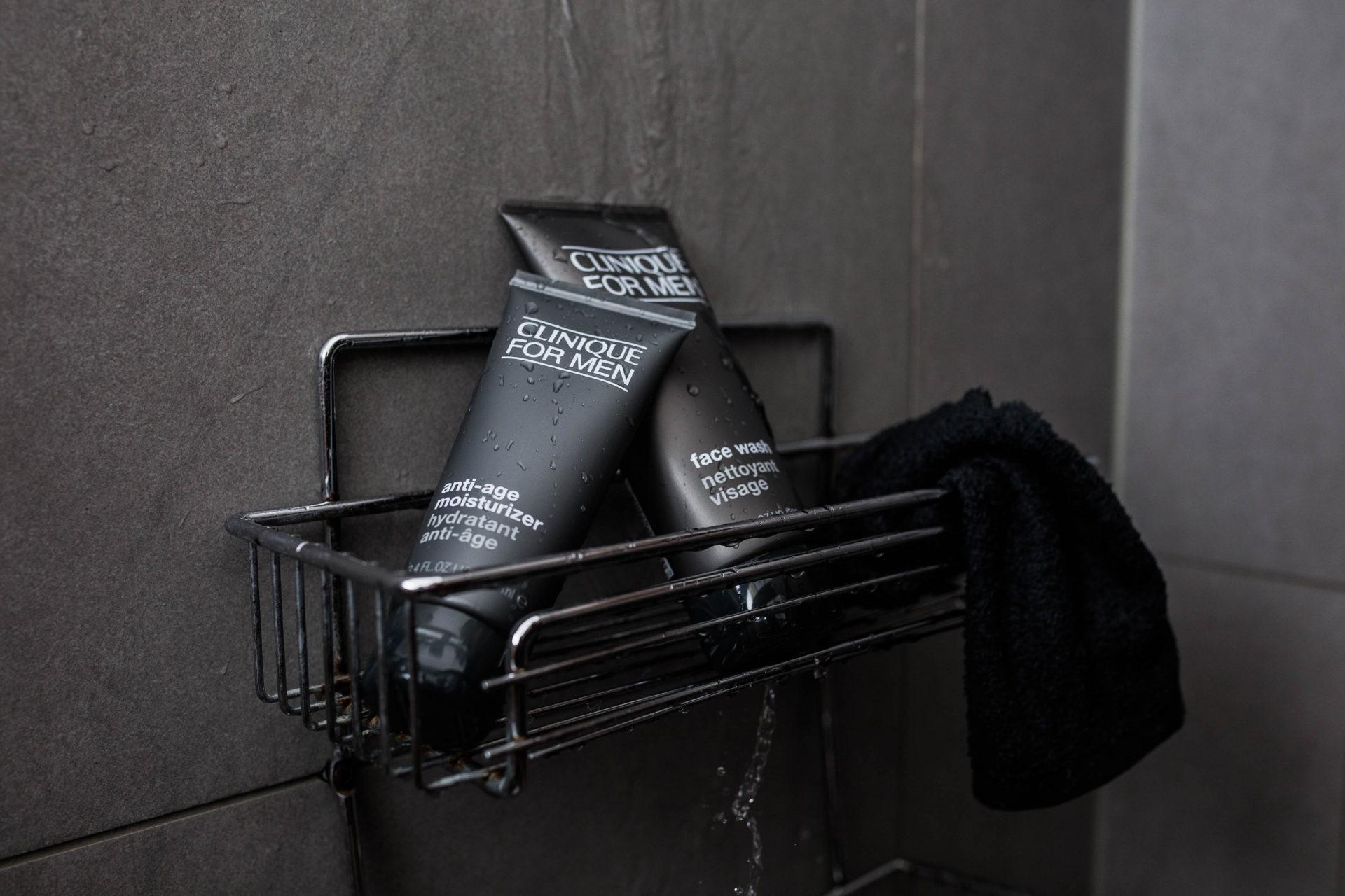 Clinique For Men Face Wash and Moisturizer