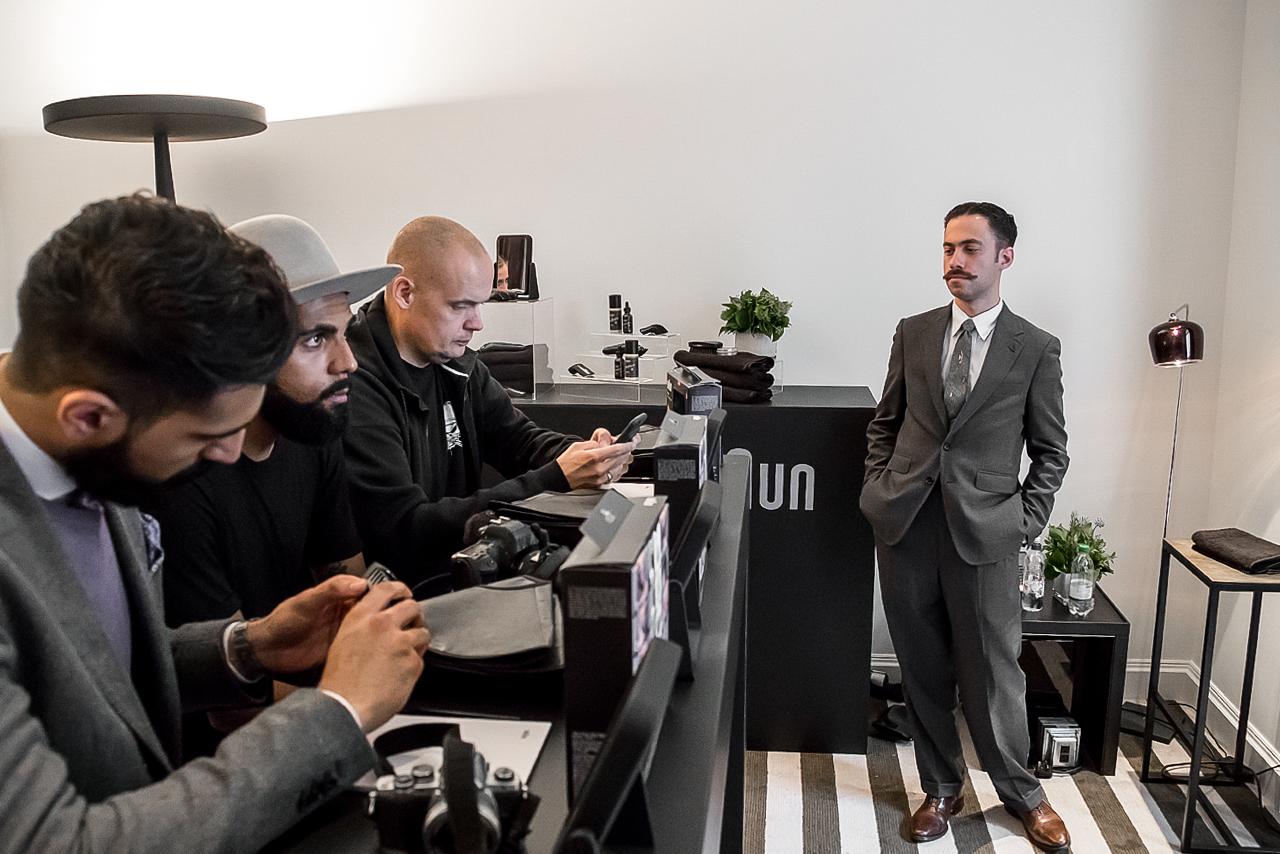 Braun Grooming Workshop with Michael Haar during London Design Festival 2016
