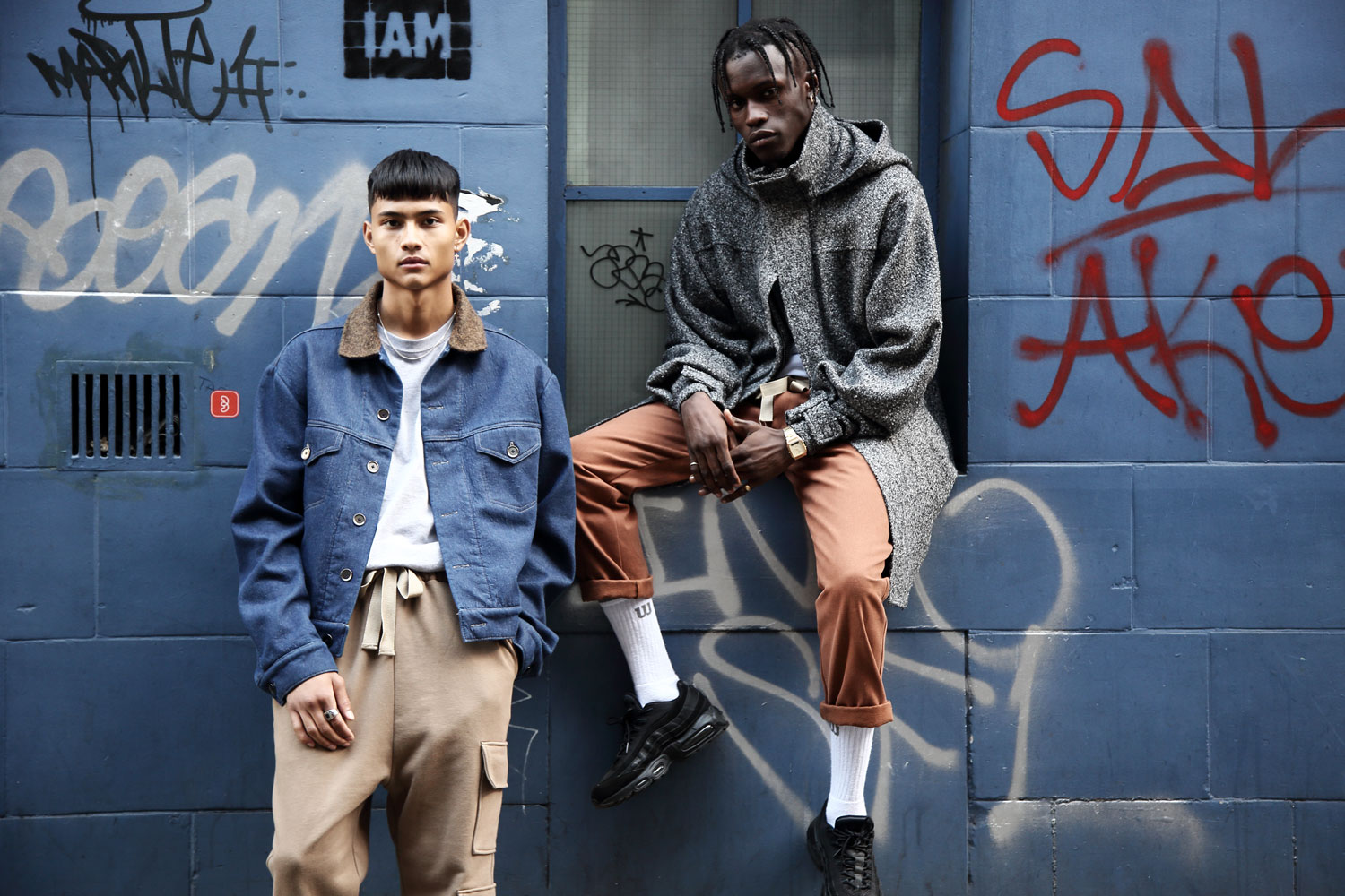 Rabbithole London Grey Area Lookbook