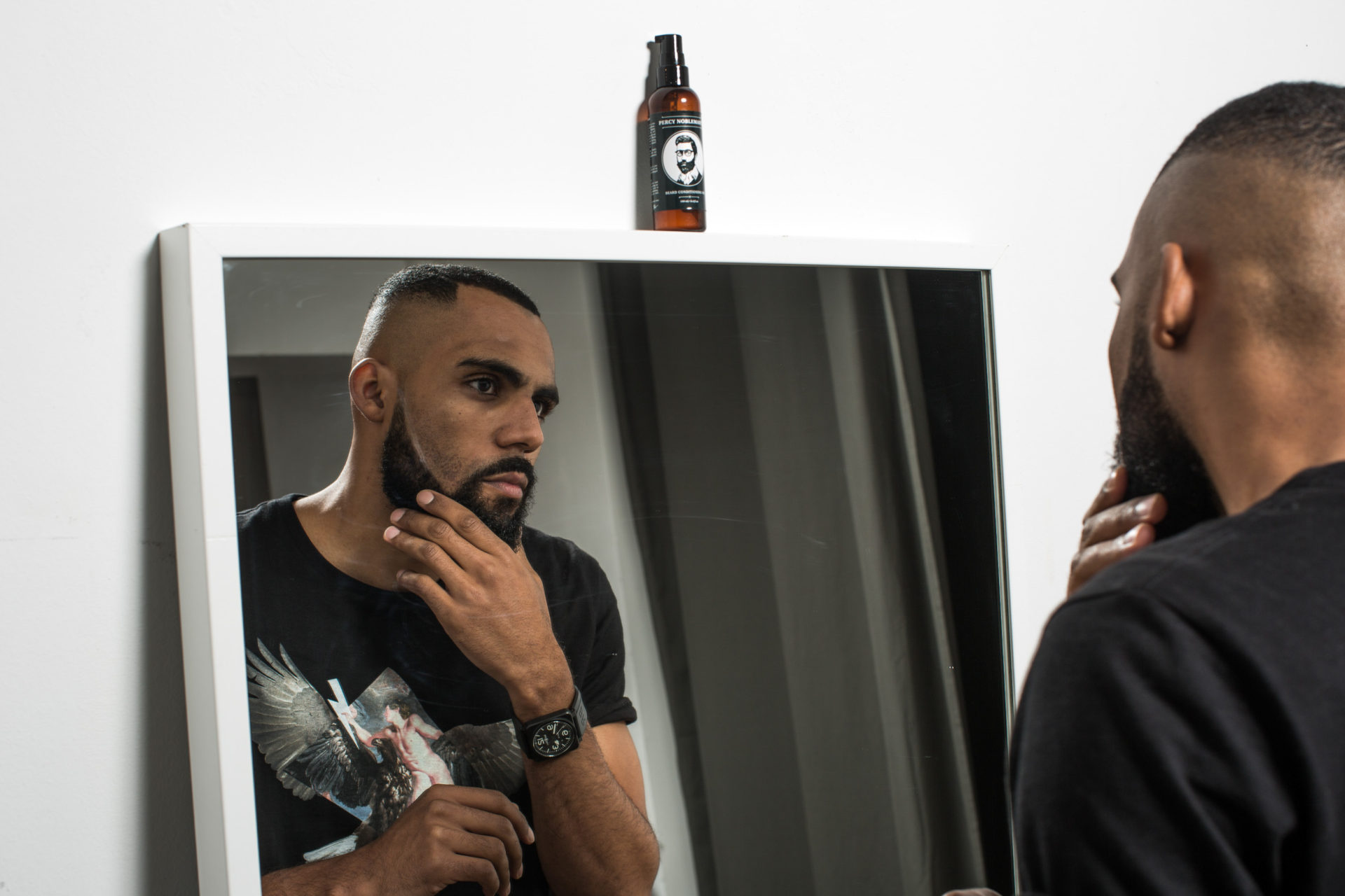 Percy Nobleman's Beard Oil inside New Kiss on the Blog's BloggerBoxx