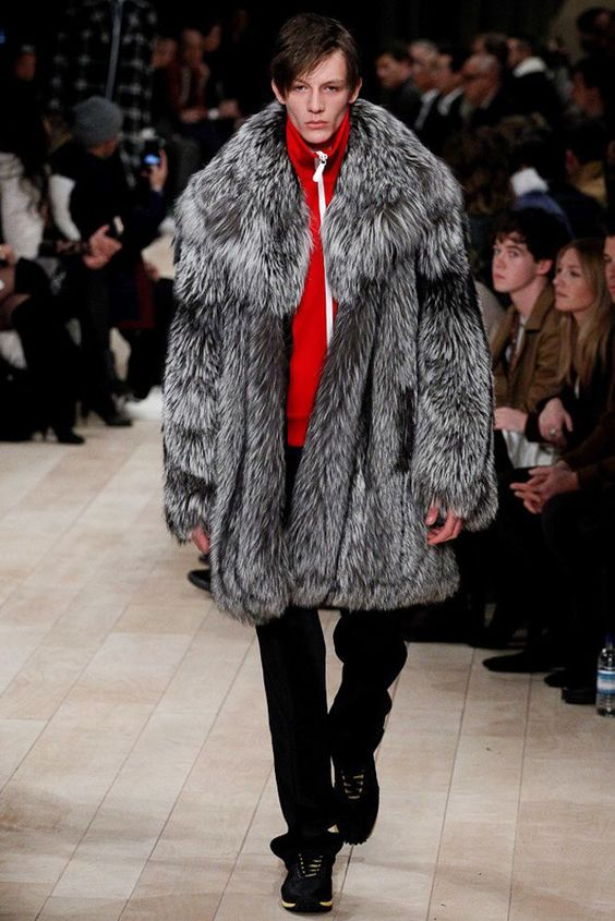 Burberry AW16 Fur Coat