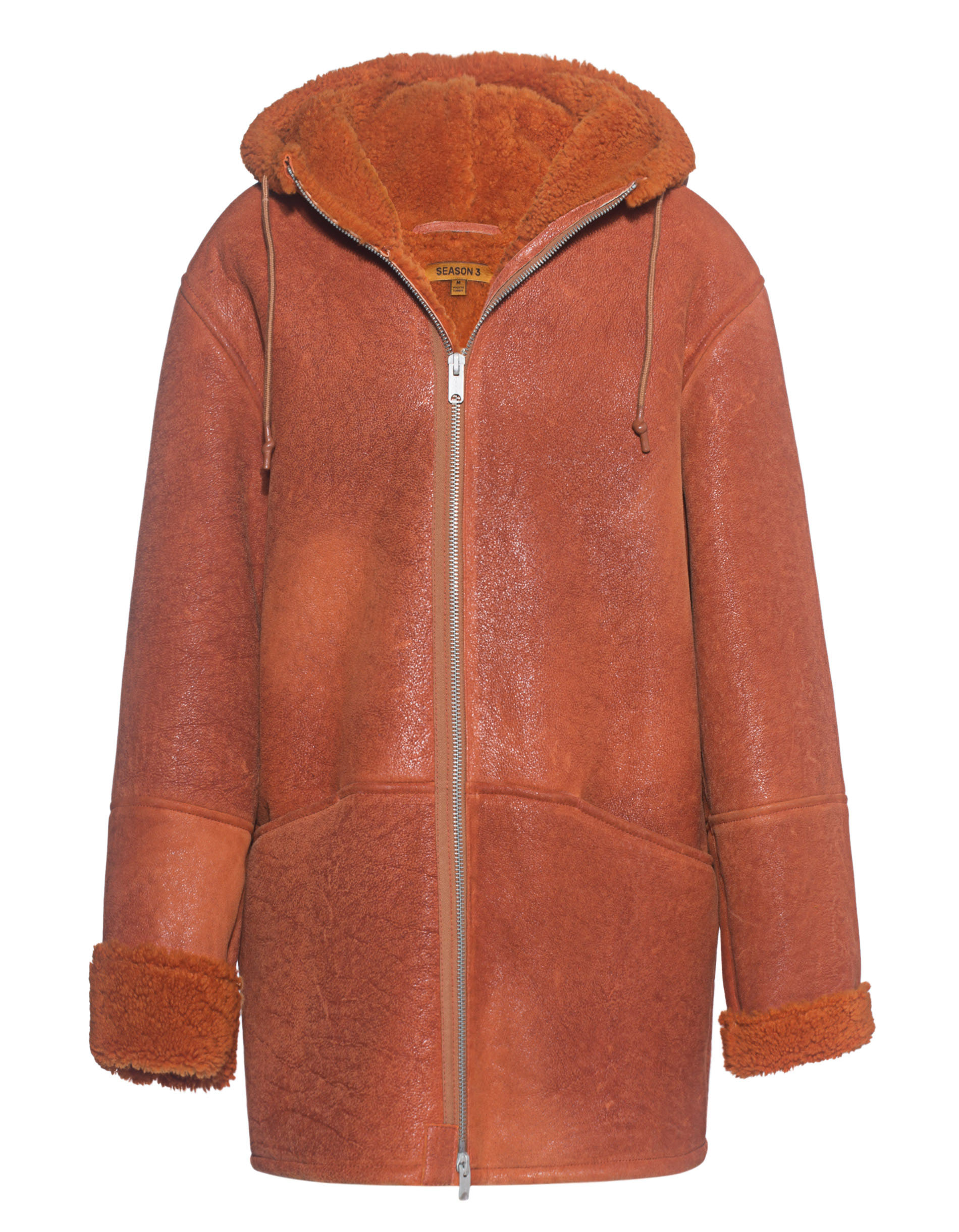 red leather jacket from yeezy season 3