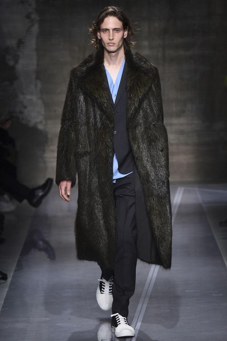 Marni AW16 Fur Coat