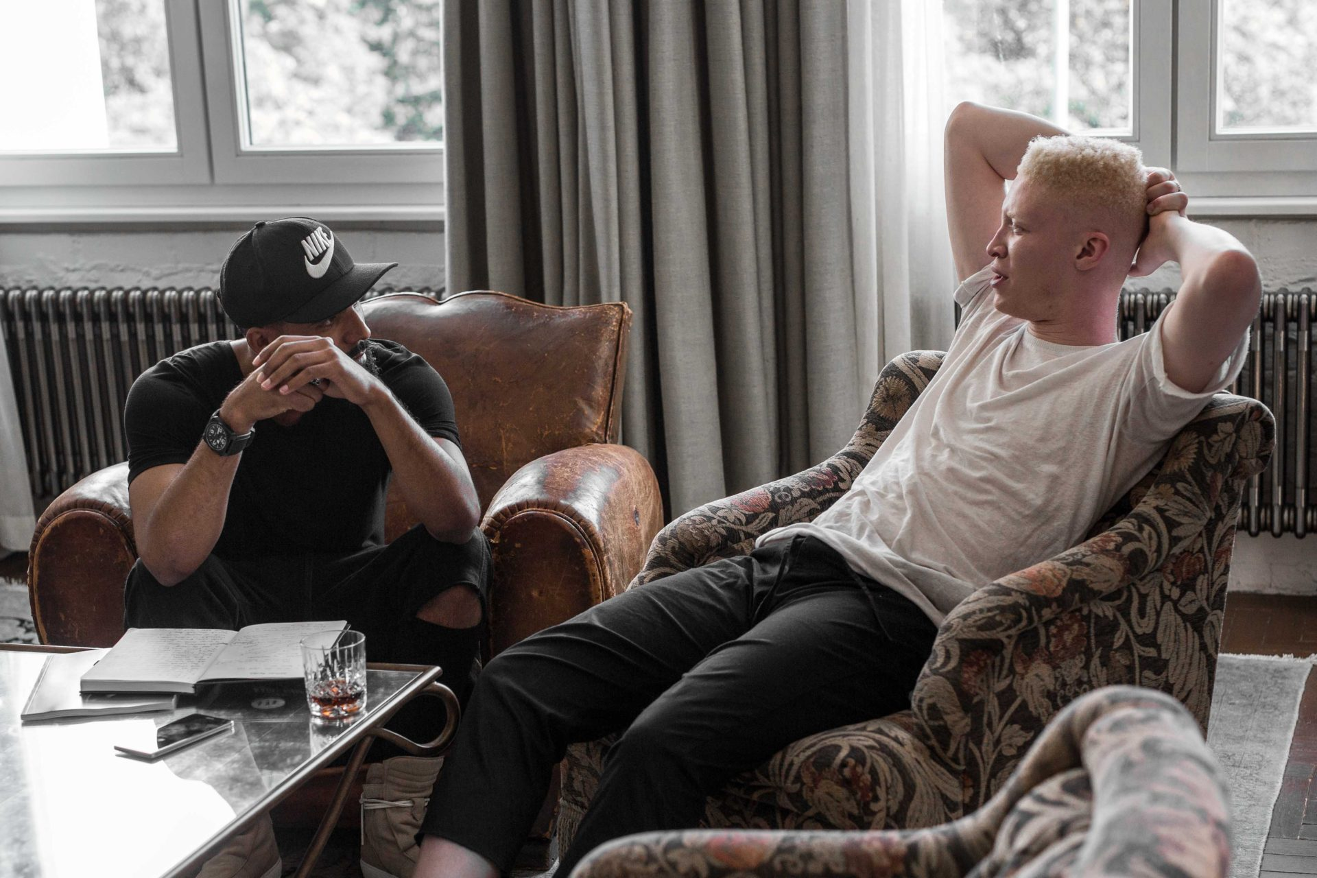 Shaun Ross Interview with New Kiss on the Blog at the Axe Magazine Launch Event
