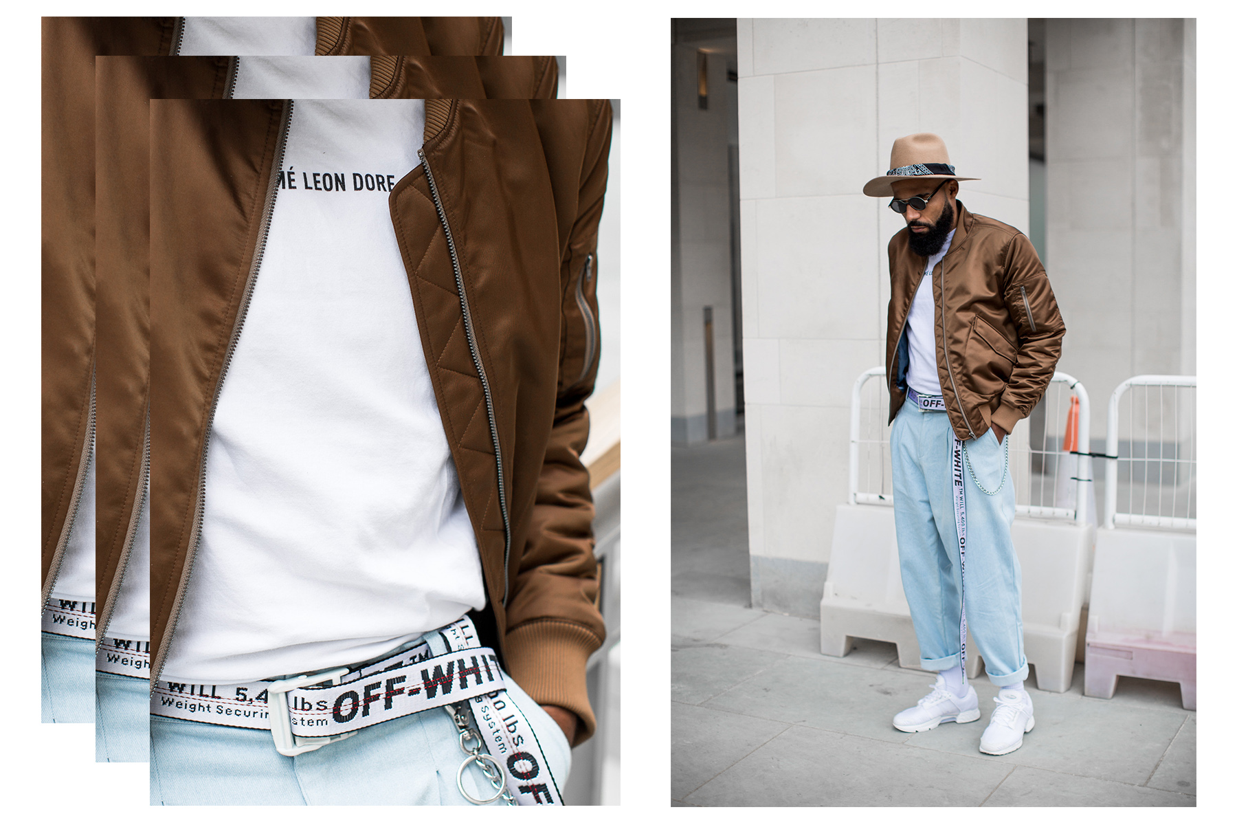 Street Style Outfit of New Kiss on the Blog during London Fashion Week Men's