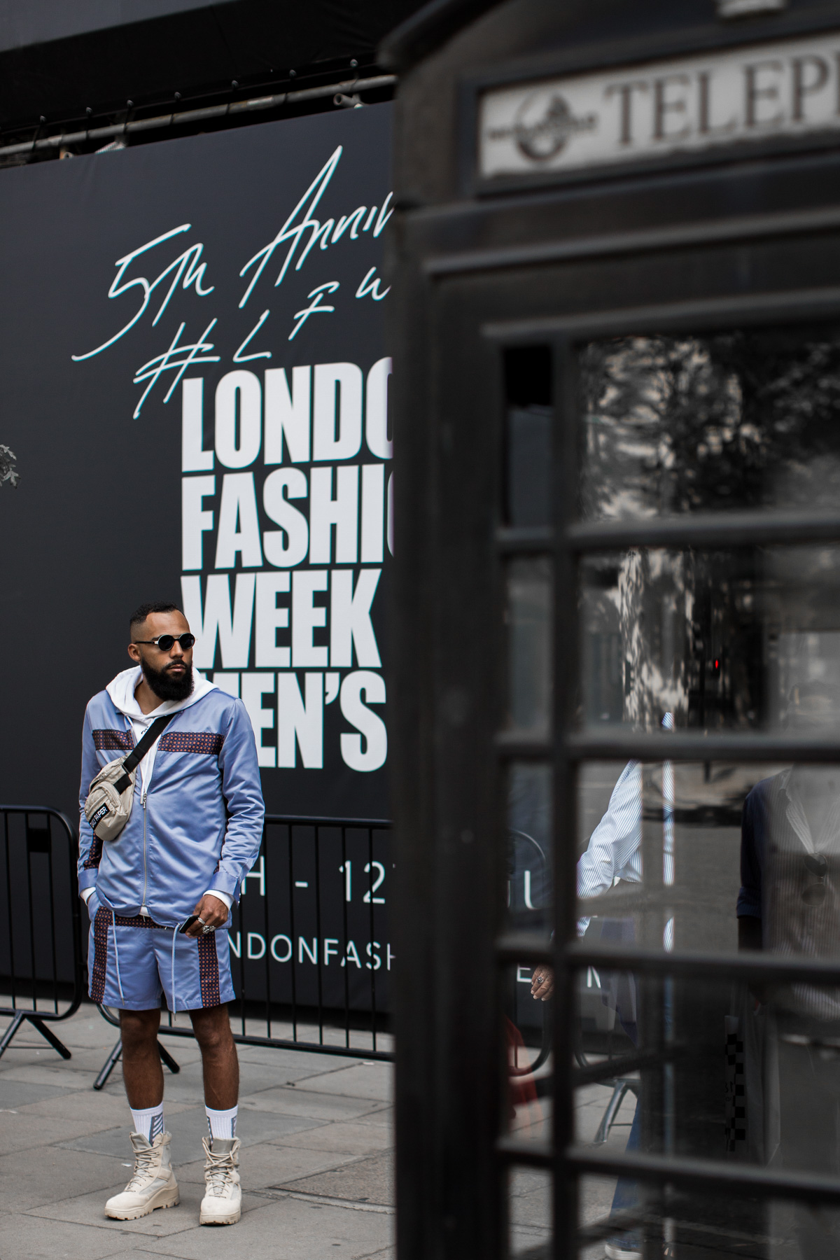 London Fashion Week Men's Street Style with New Kiss on the Blog