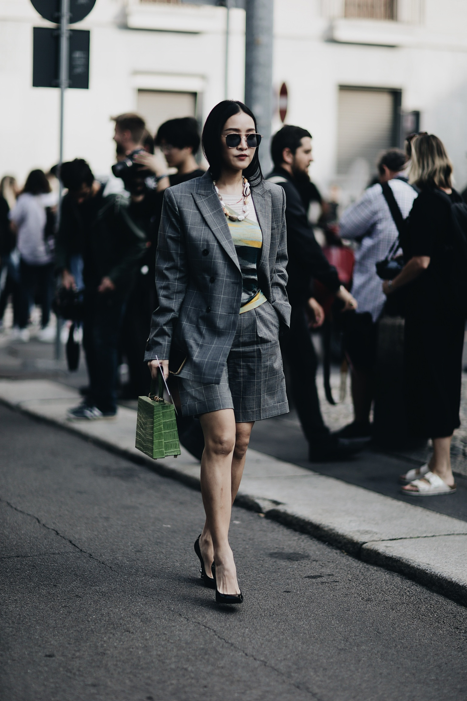 Street Style Milan Fashion Week SS18: