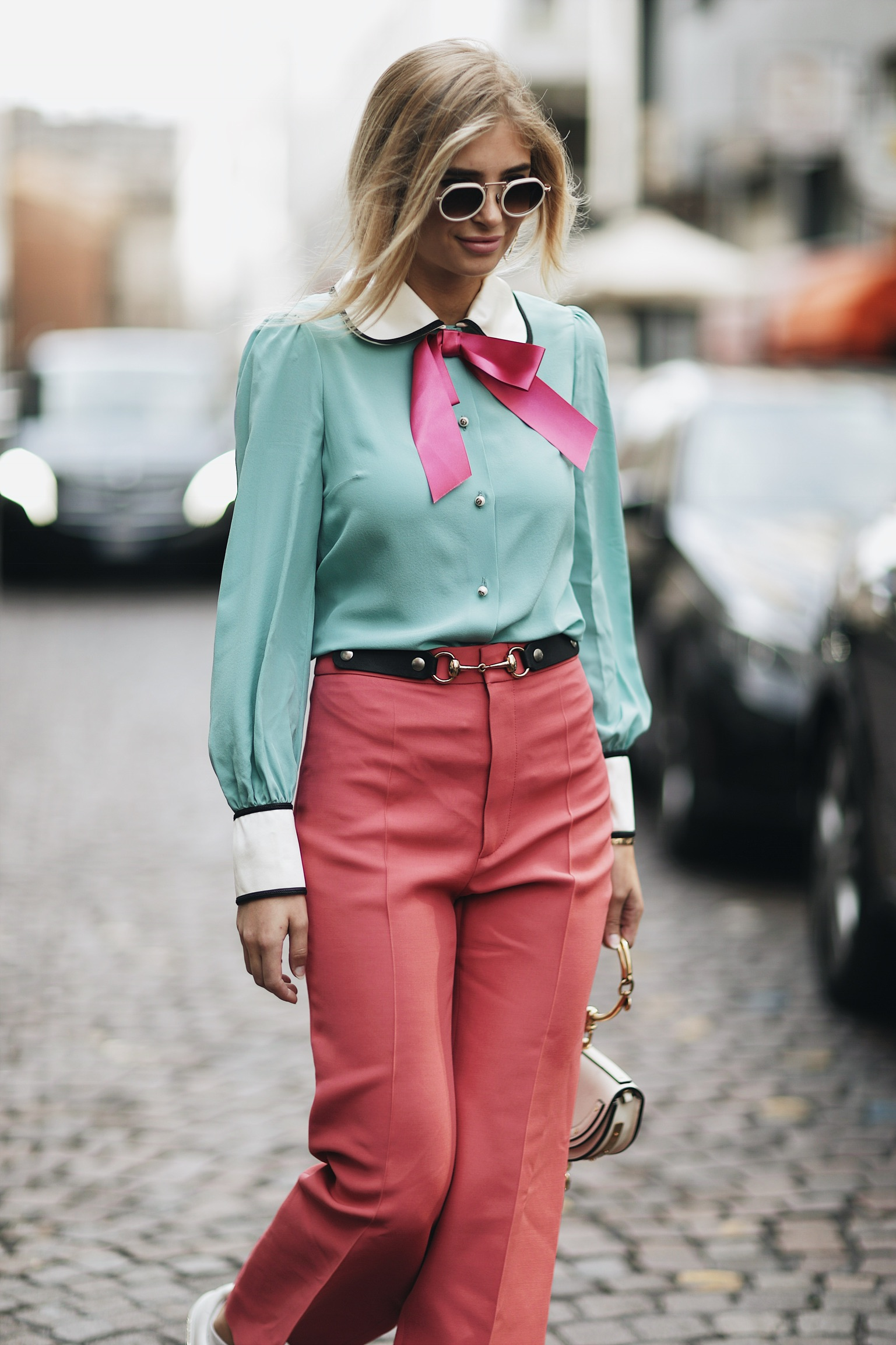 Street Style Milan Fashion Week SS18: Xenia van der Woodsen