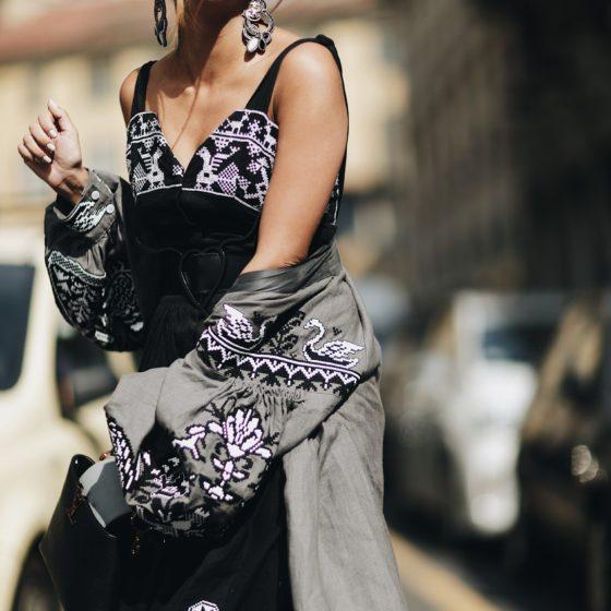 Street Style Milan Fashion Week SS18: Korin Avraham