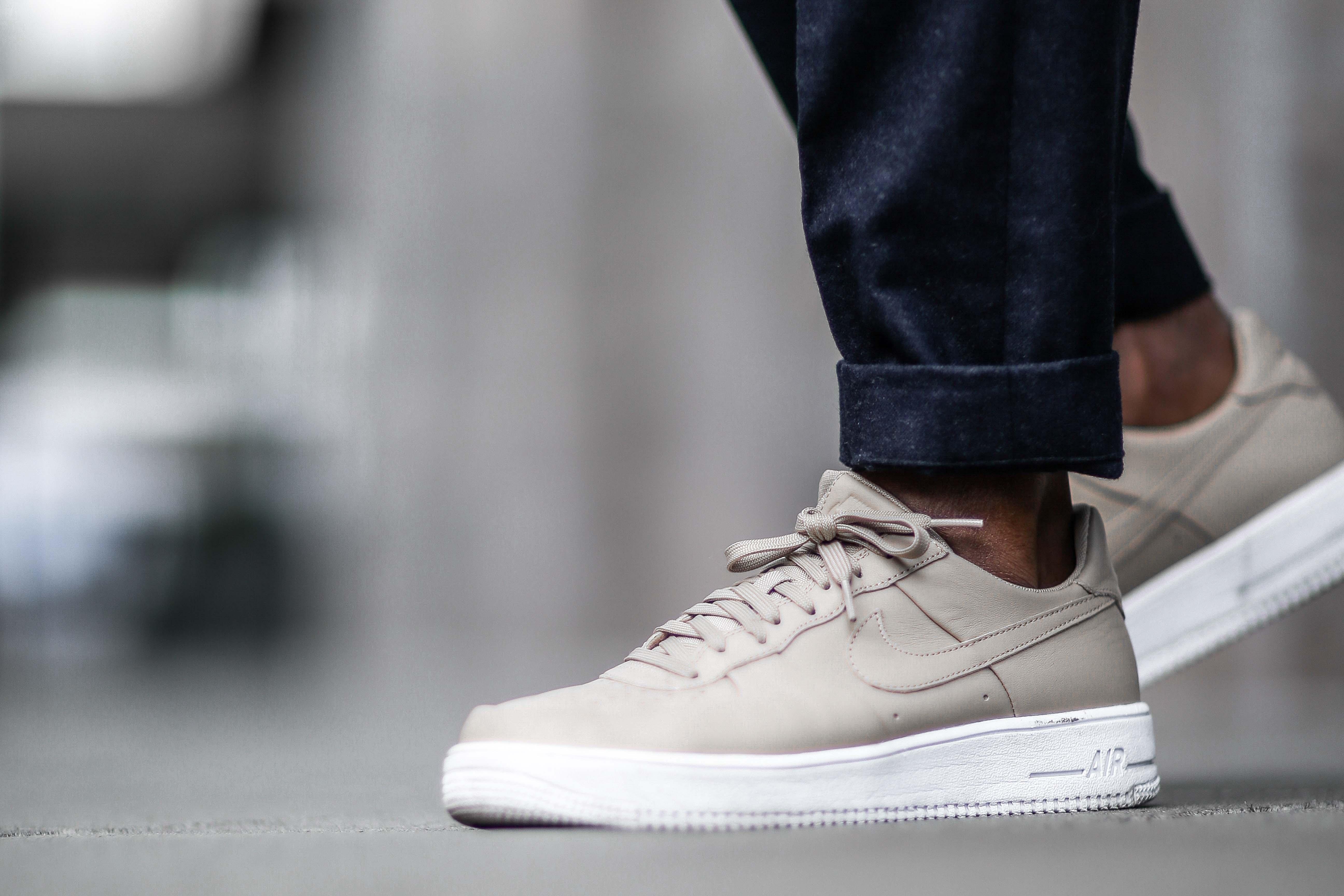 Nike Air Force 1 Sneakers in beige