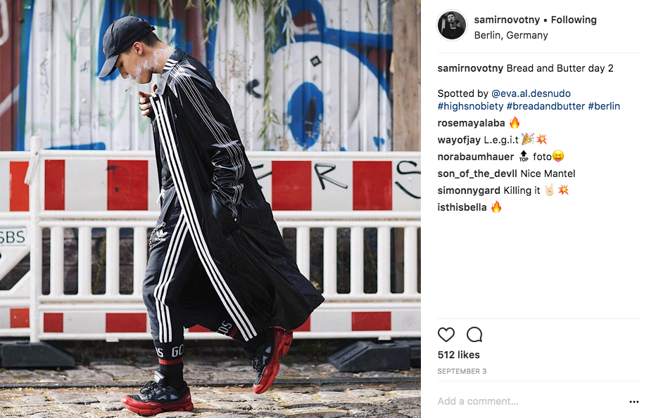 Socken-Trend auf Instagram