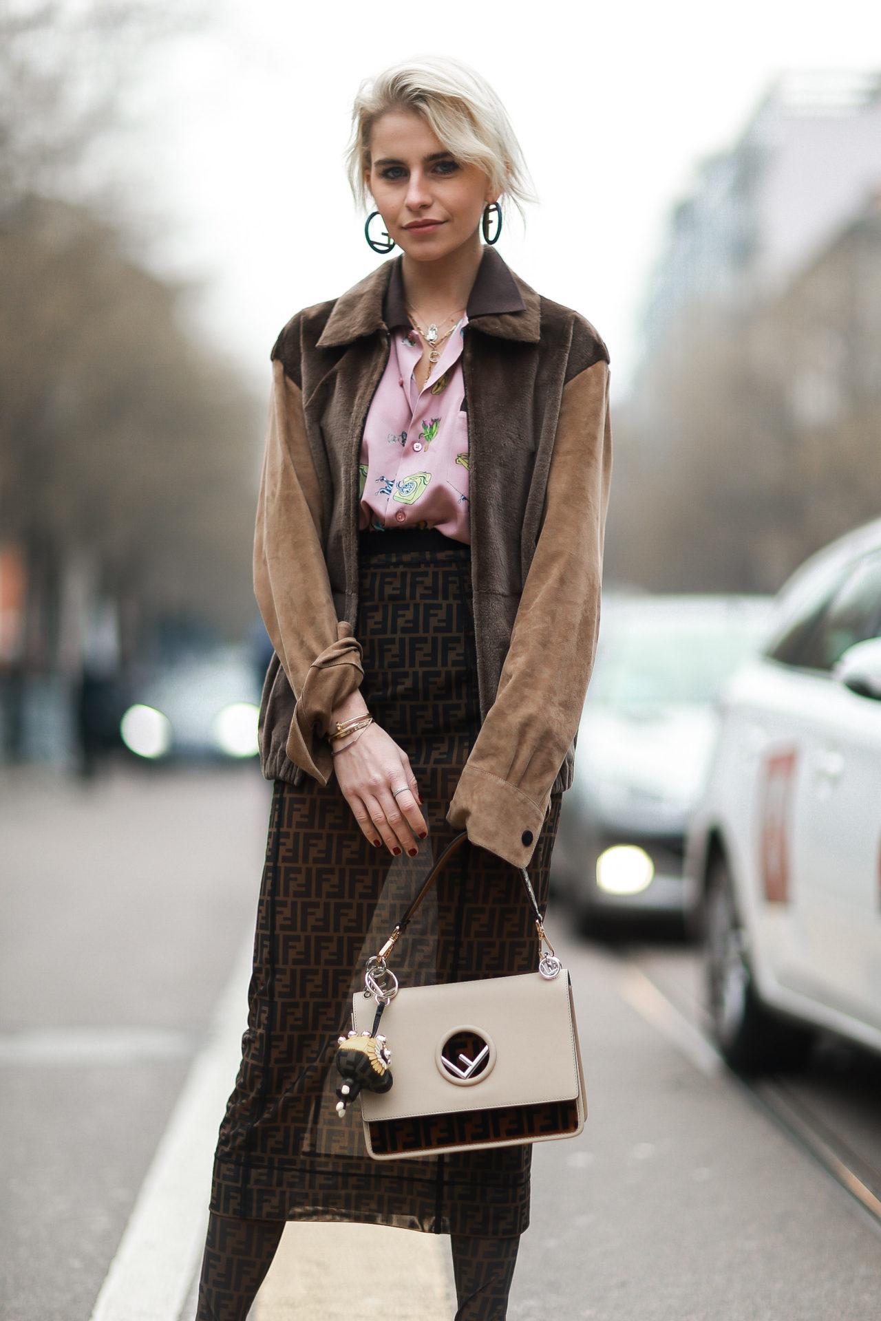 Street Style from Milan Fashion Week AW18: Caro Daur
