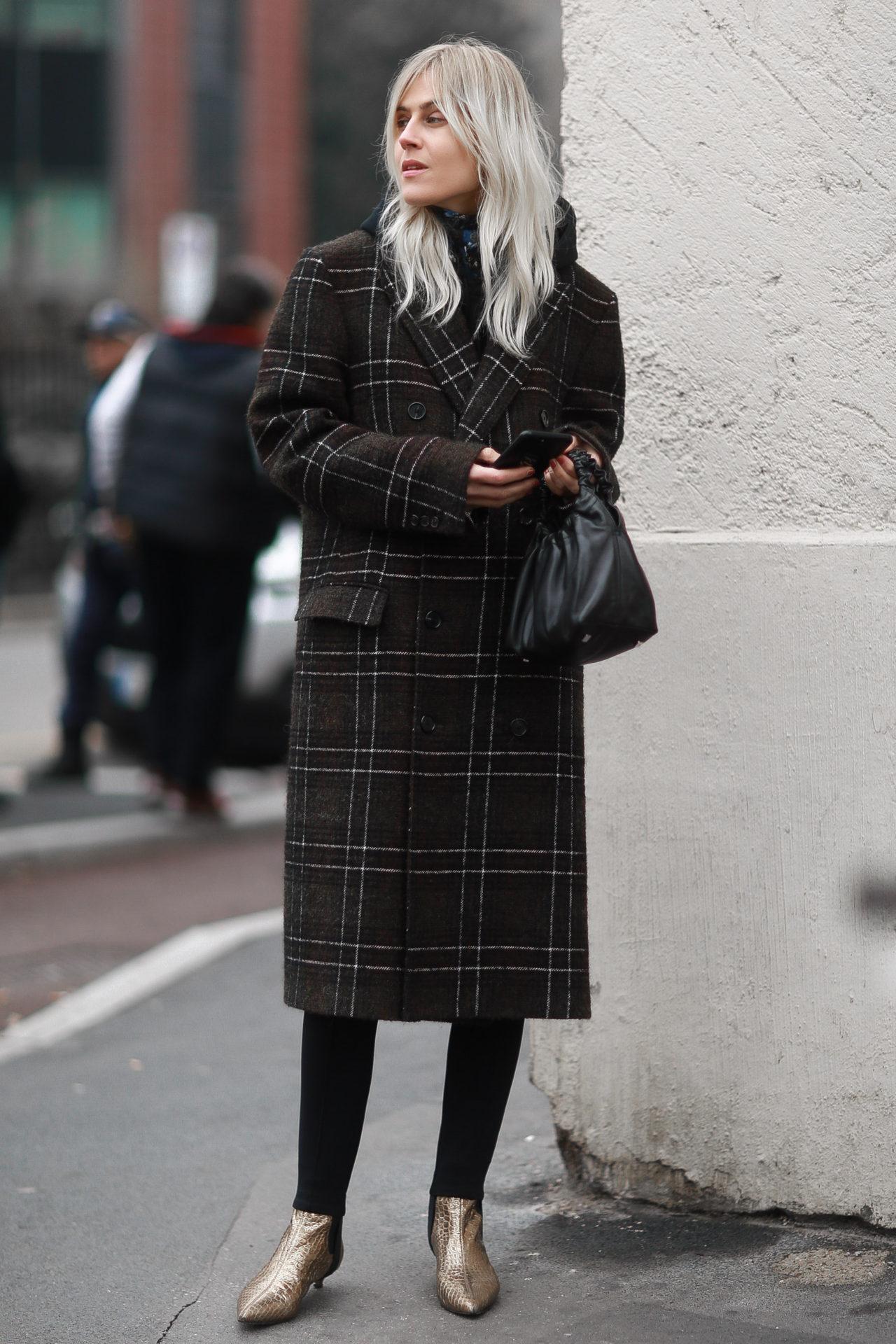 Street Style from Milan Fashion Week AW18: Linda Tot