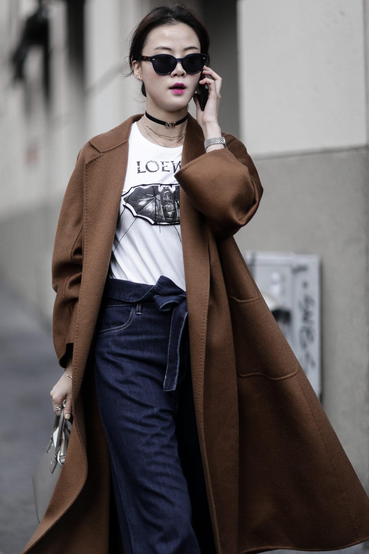 Street Style from Milan Fashion Week AW18