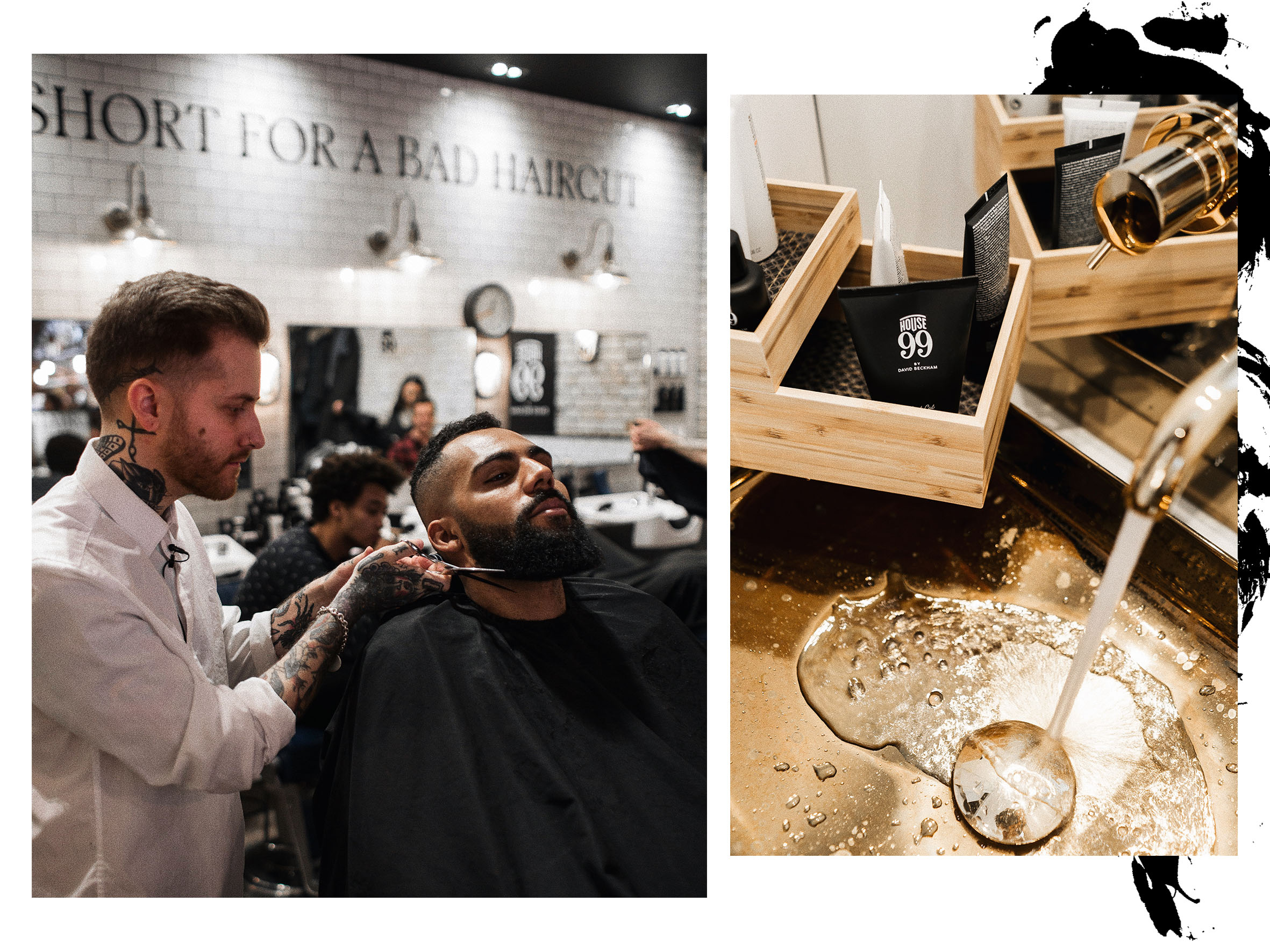 Grooming Session at the House 99 Launch with New Kiss on the Blog