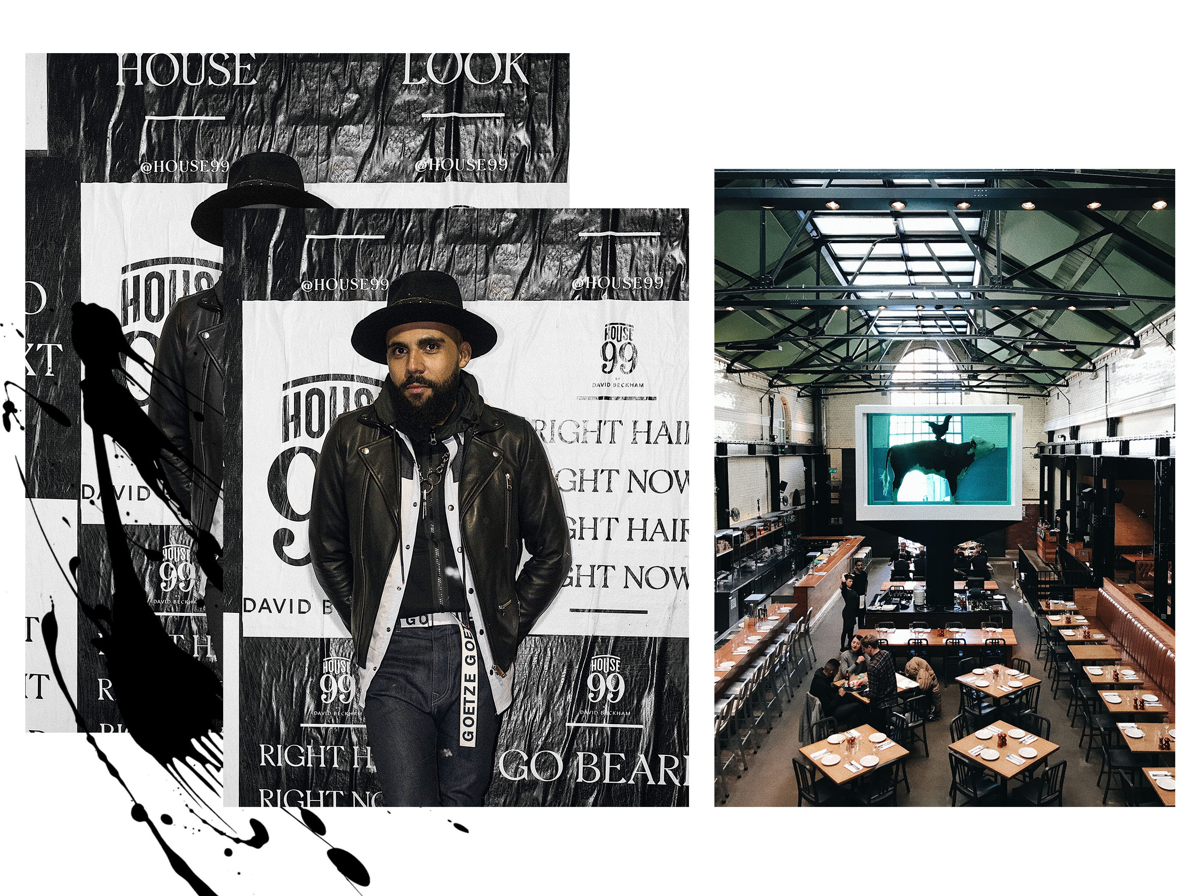 Blogger Jean-Claude Mpassy from New Kiss on the Blog at the House 99 Launch in London