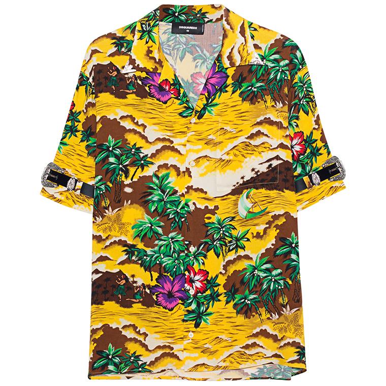 Dsquared2 Hawaii Shirt