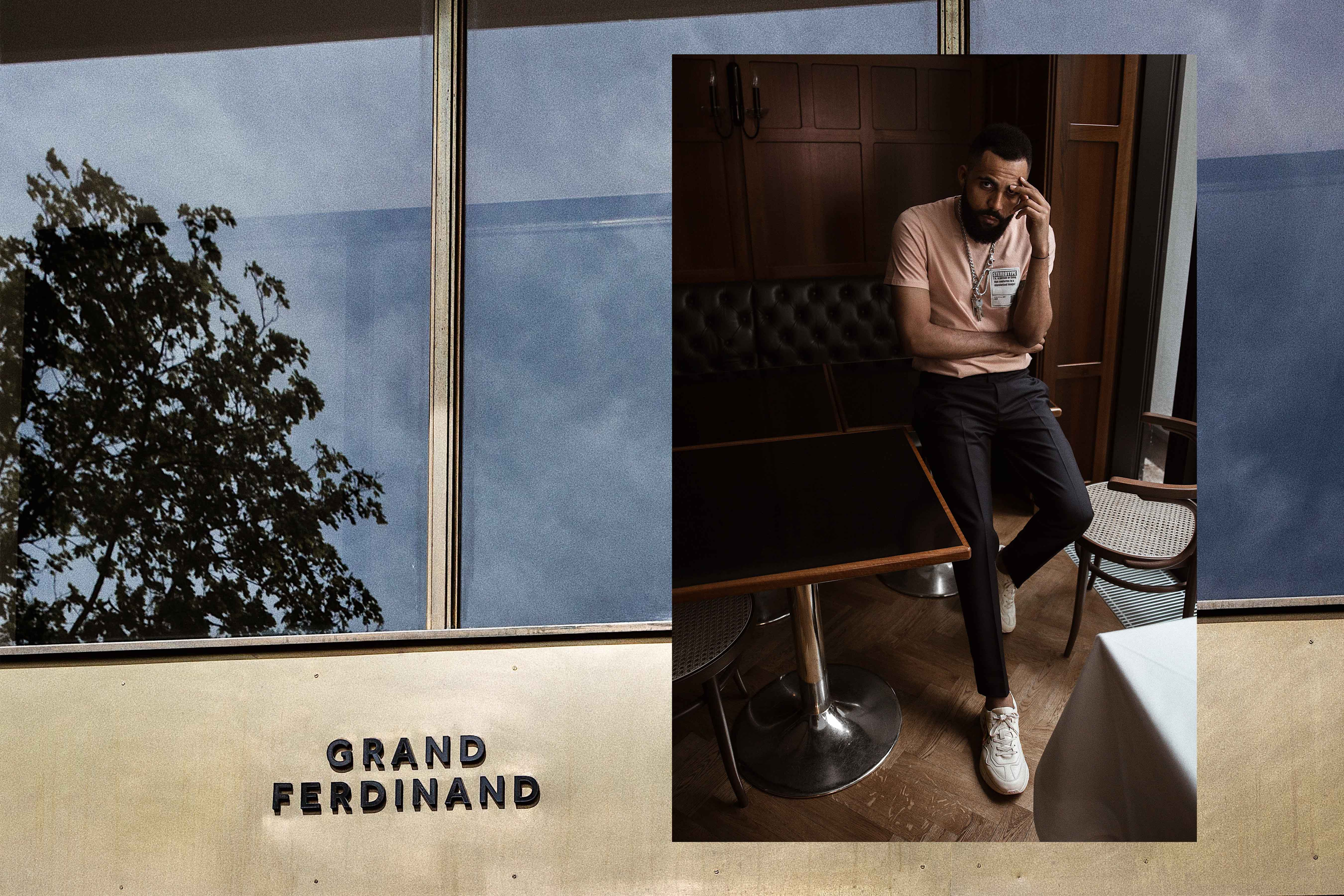 New Kiss on the Blog at the Grand Ferdinand hotel in Vienna. Dressed by Mr Porter