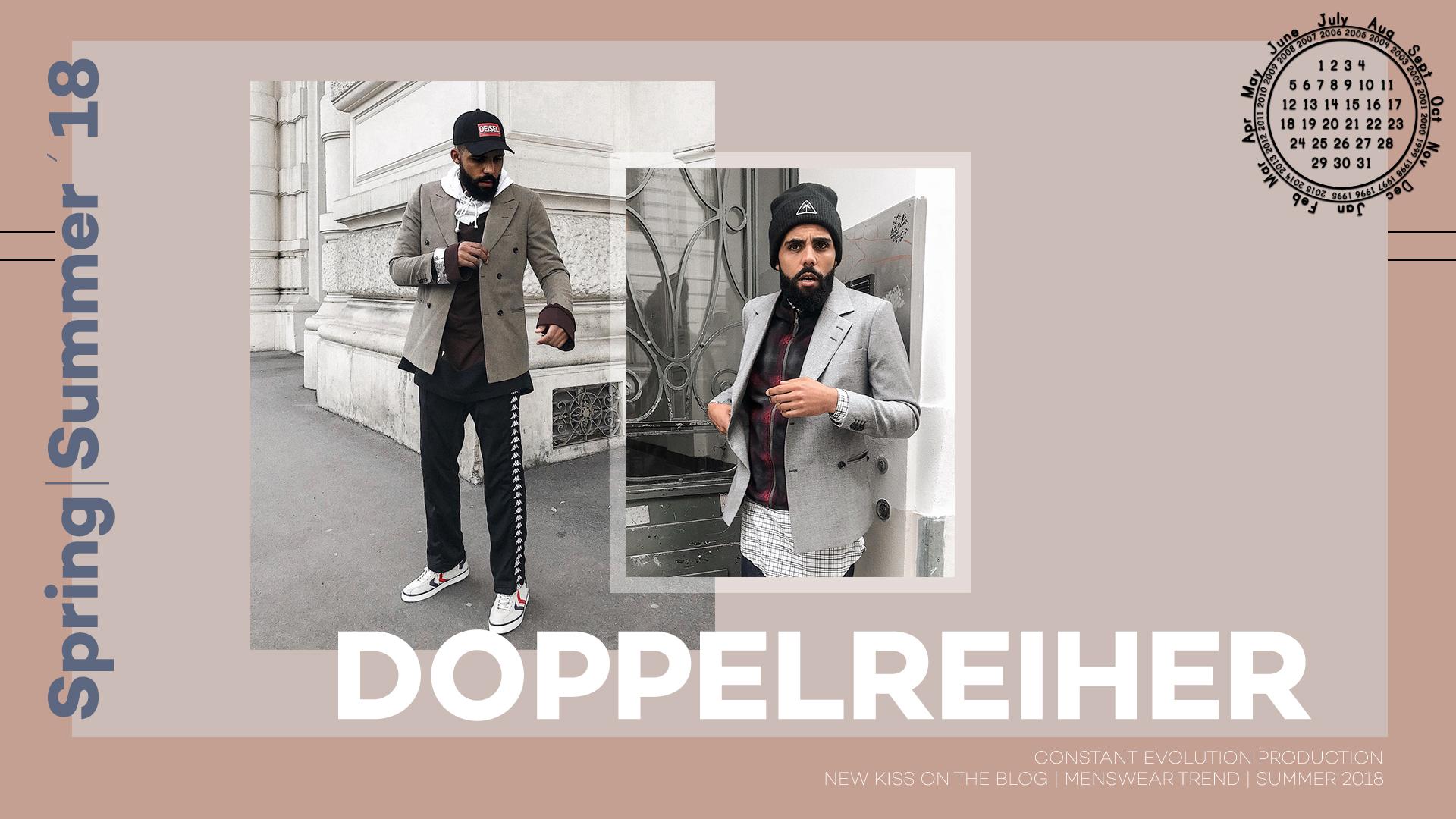 Modetrend 2018: Doppelreiher