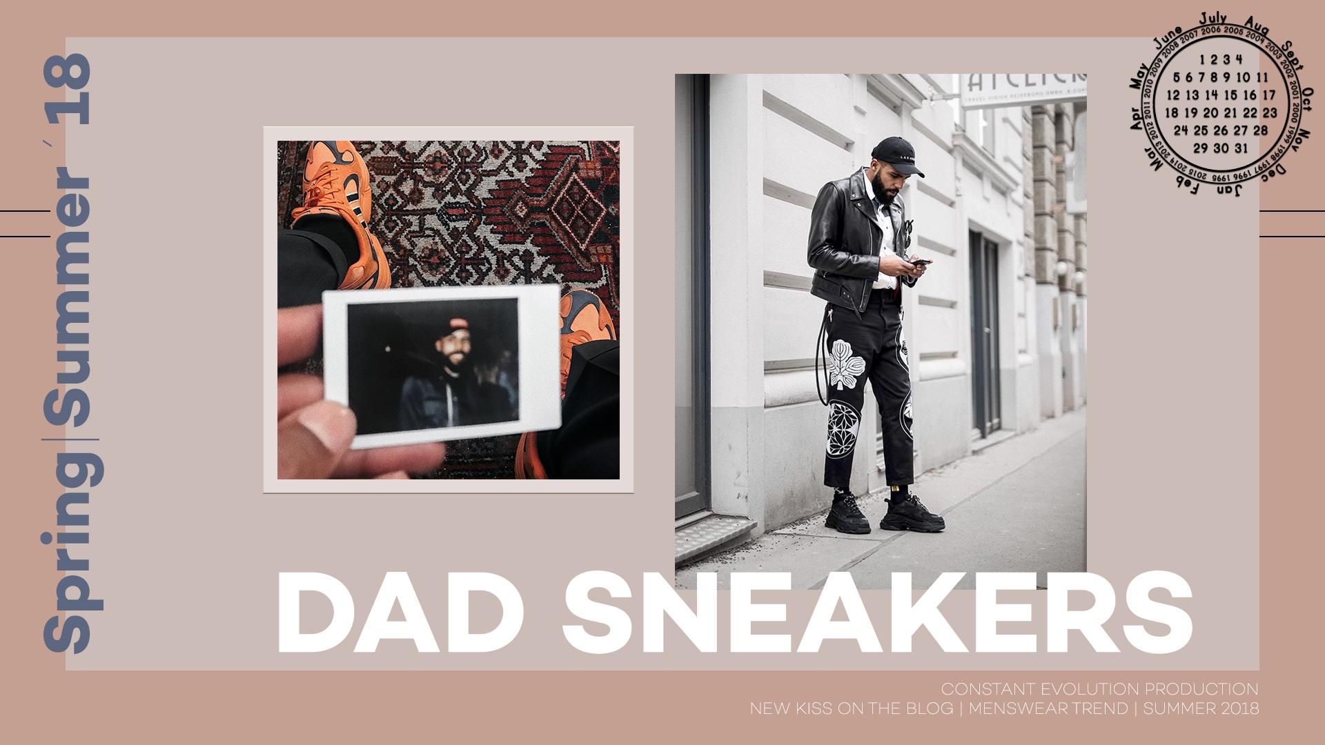 Modetrend 2018: Dad Sneakers