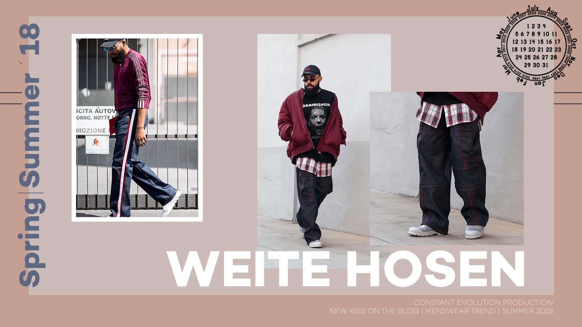 Modetrend 2018: Weite Hosen