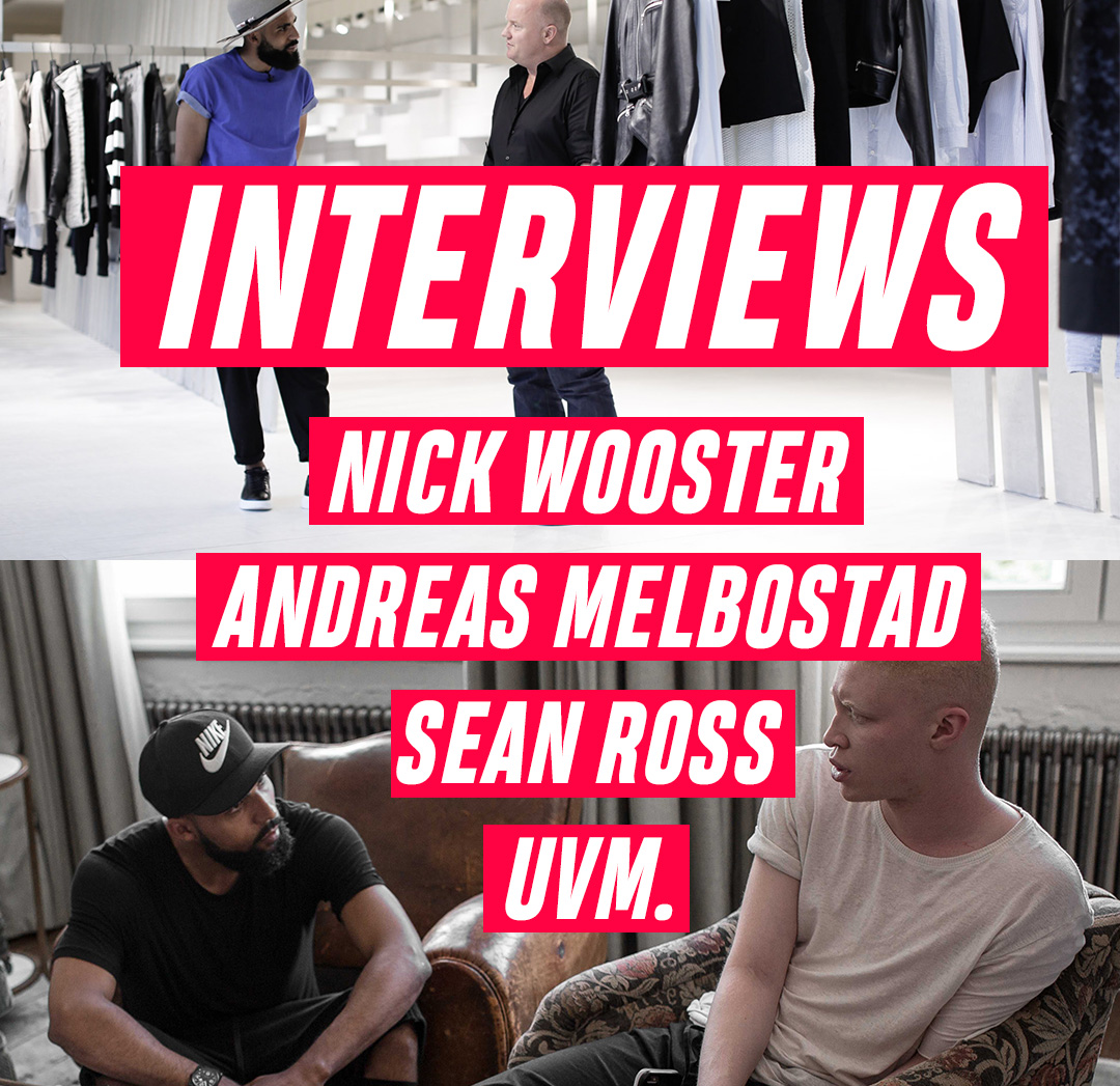 Jean-Claude Mpassy from New Kiss on the Blog interviewing men within the fashion industry