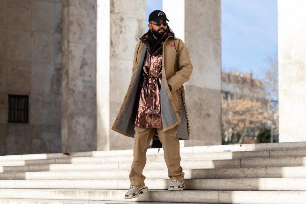 Jean-Claude Mpassy von New Kiss on the Blog präsentiert die stärksten Modetrends 2019 für Männer!
