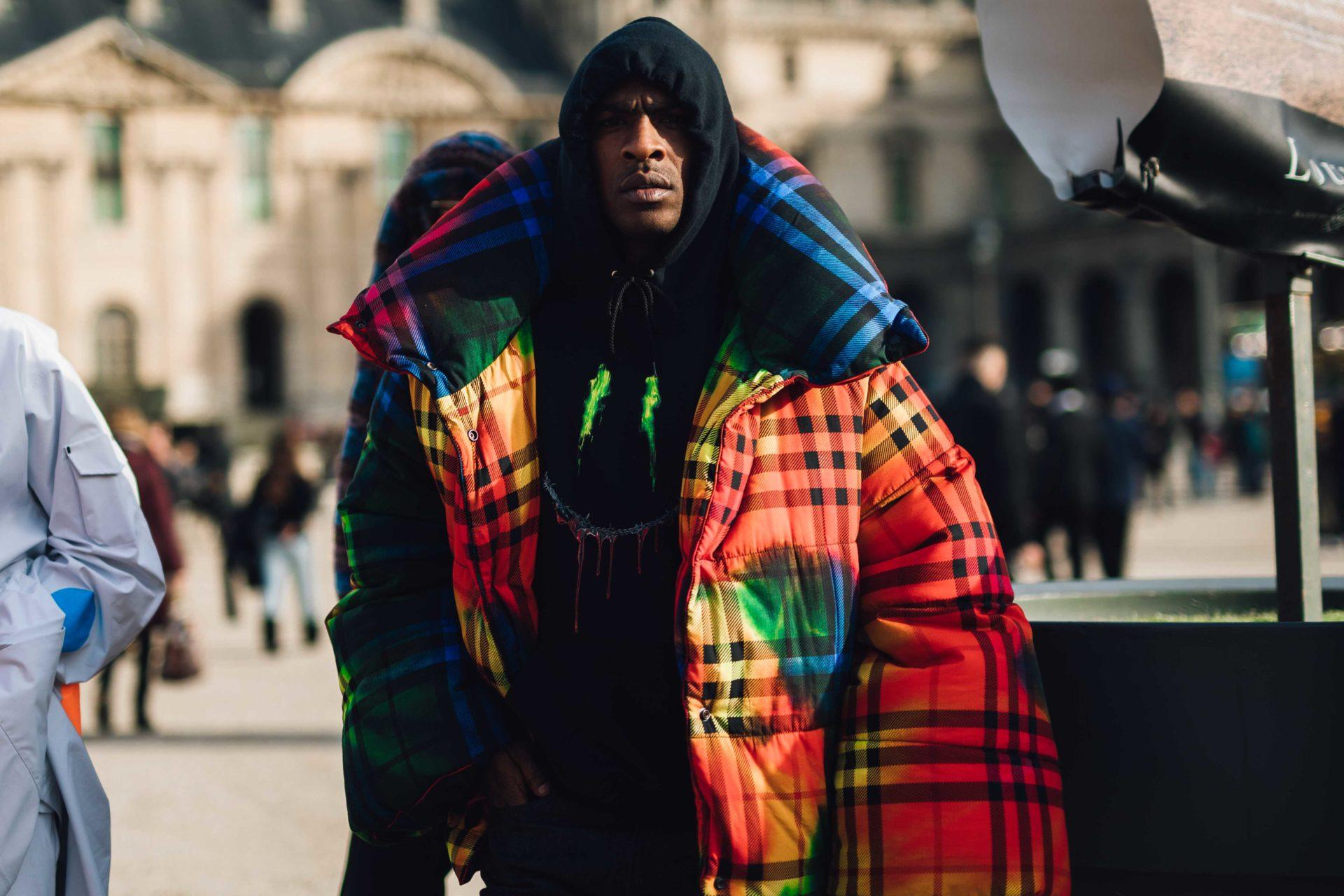 Street Style at Men's Fashion Week Paris AW19