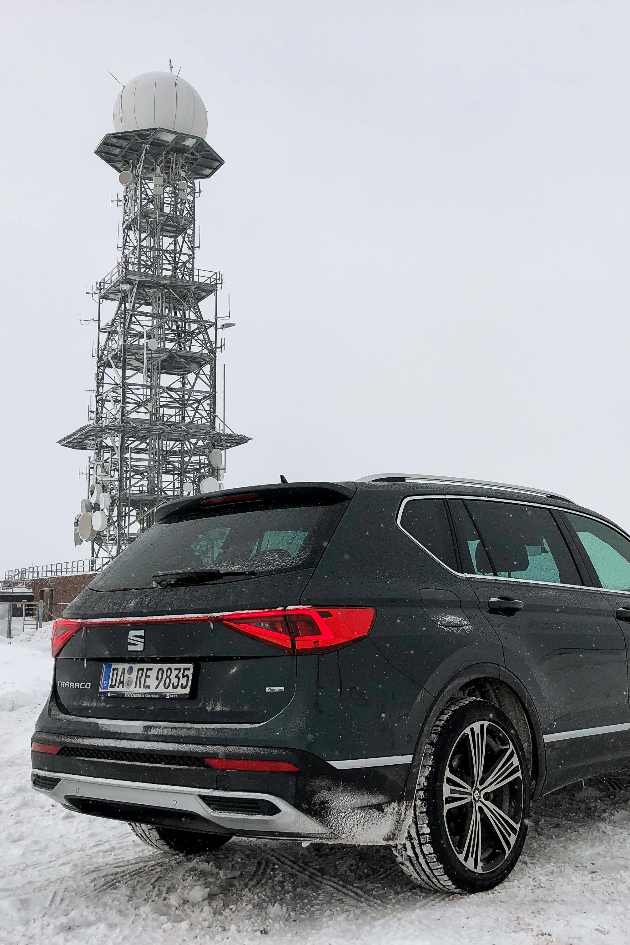 New Kiss on the Blog Drive: Seat Tarraco