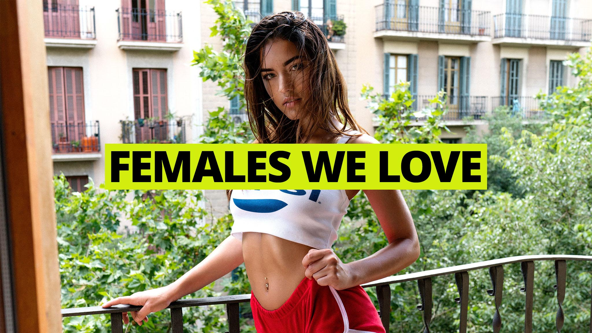 New Kiss on the Blog: Females We Love