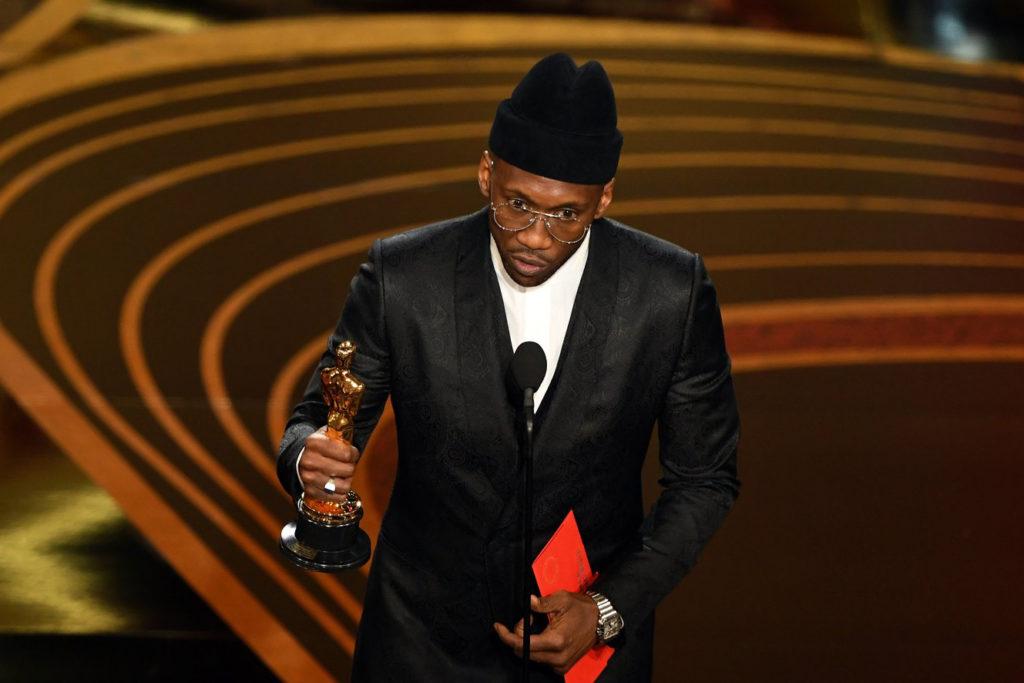 Mahershala Ali's Oscar Hat from Gigi Burris