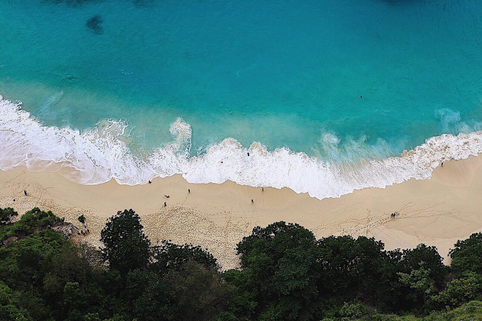 Must See Places auf Bali: kelingking beach