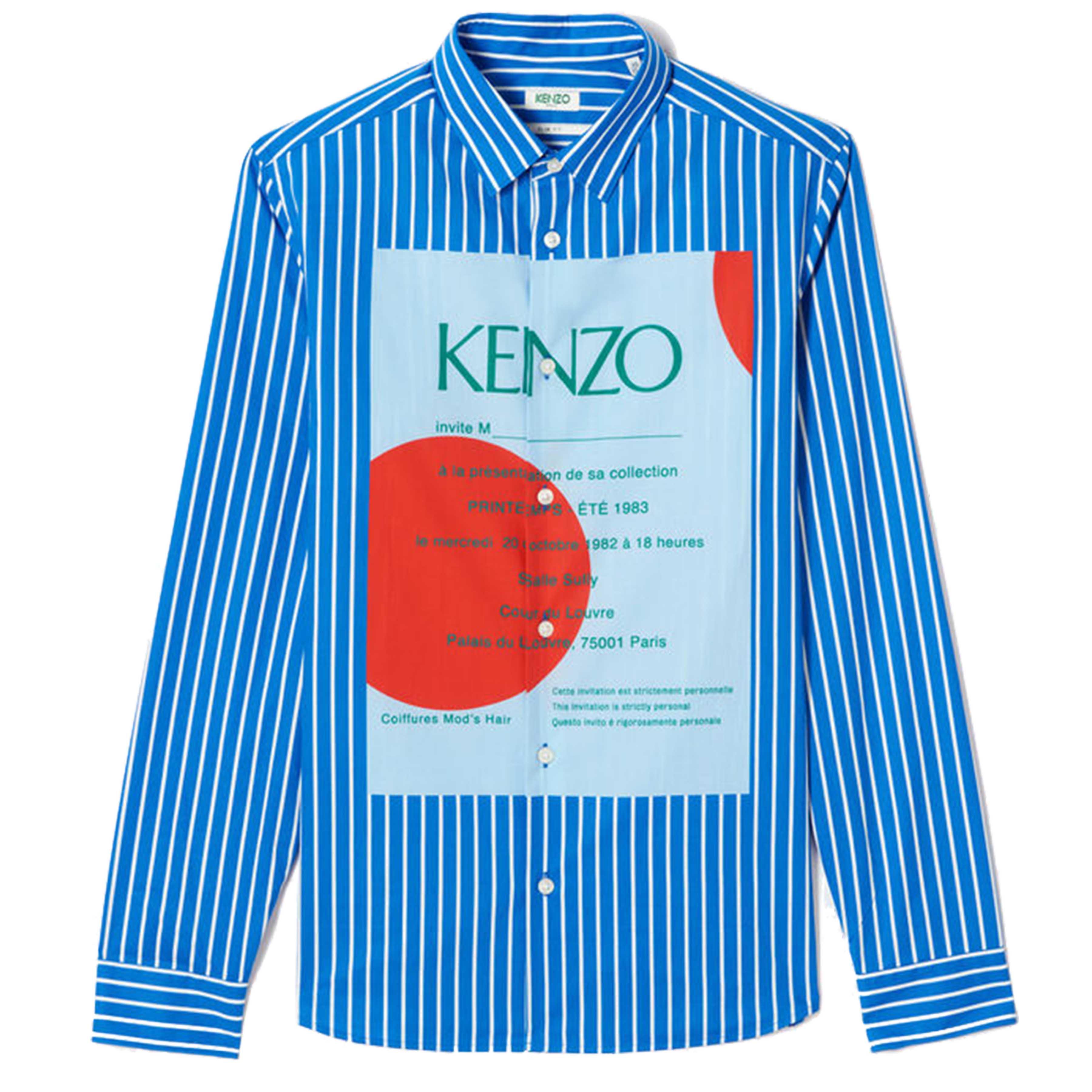SS19 Printed Shirts: KENZO