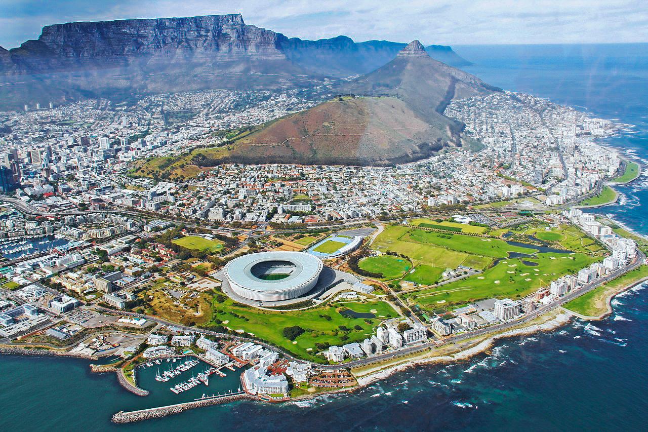 Die Skyline von Kapstadt