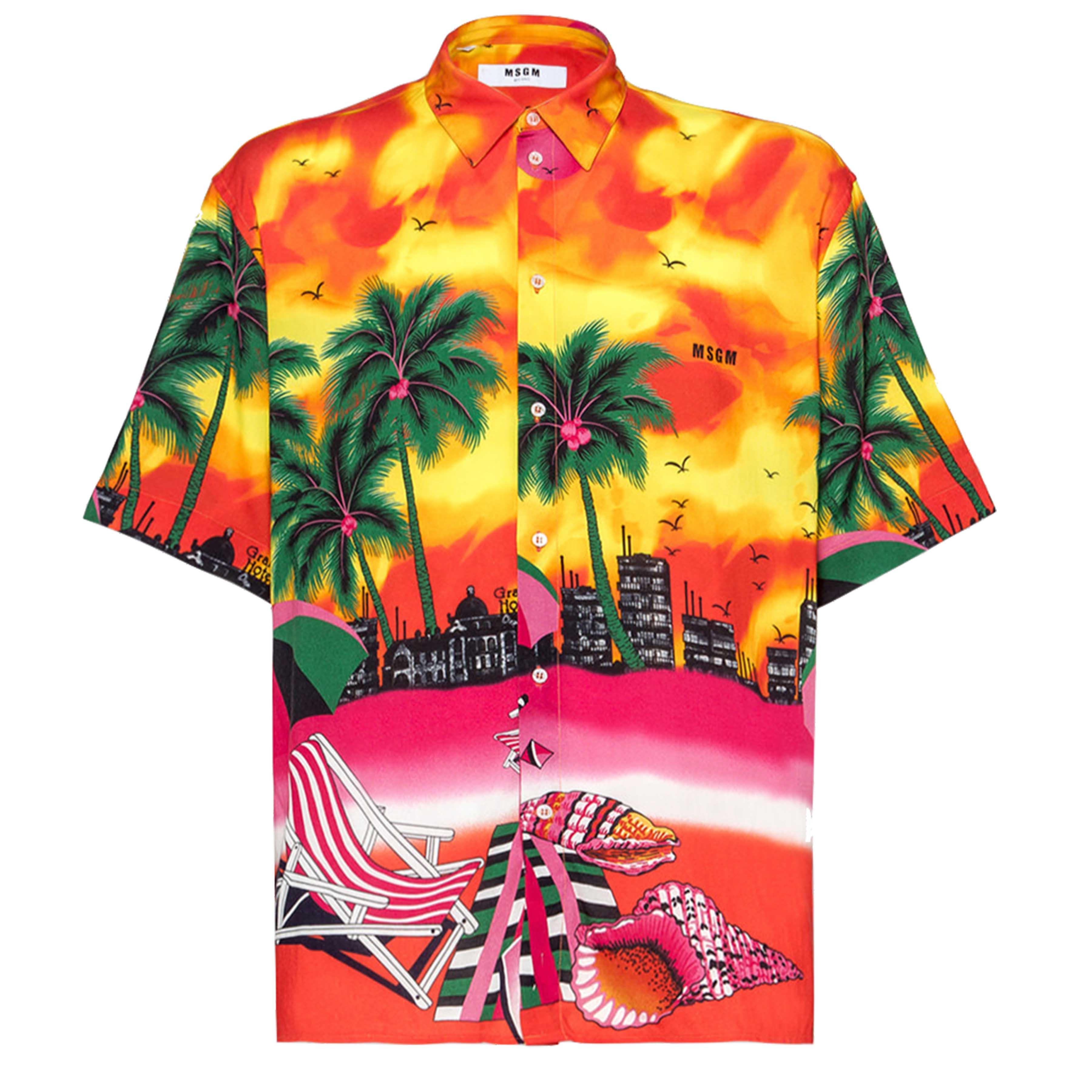 SS19 Printed Shirts: MSGM