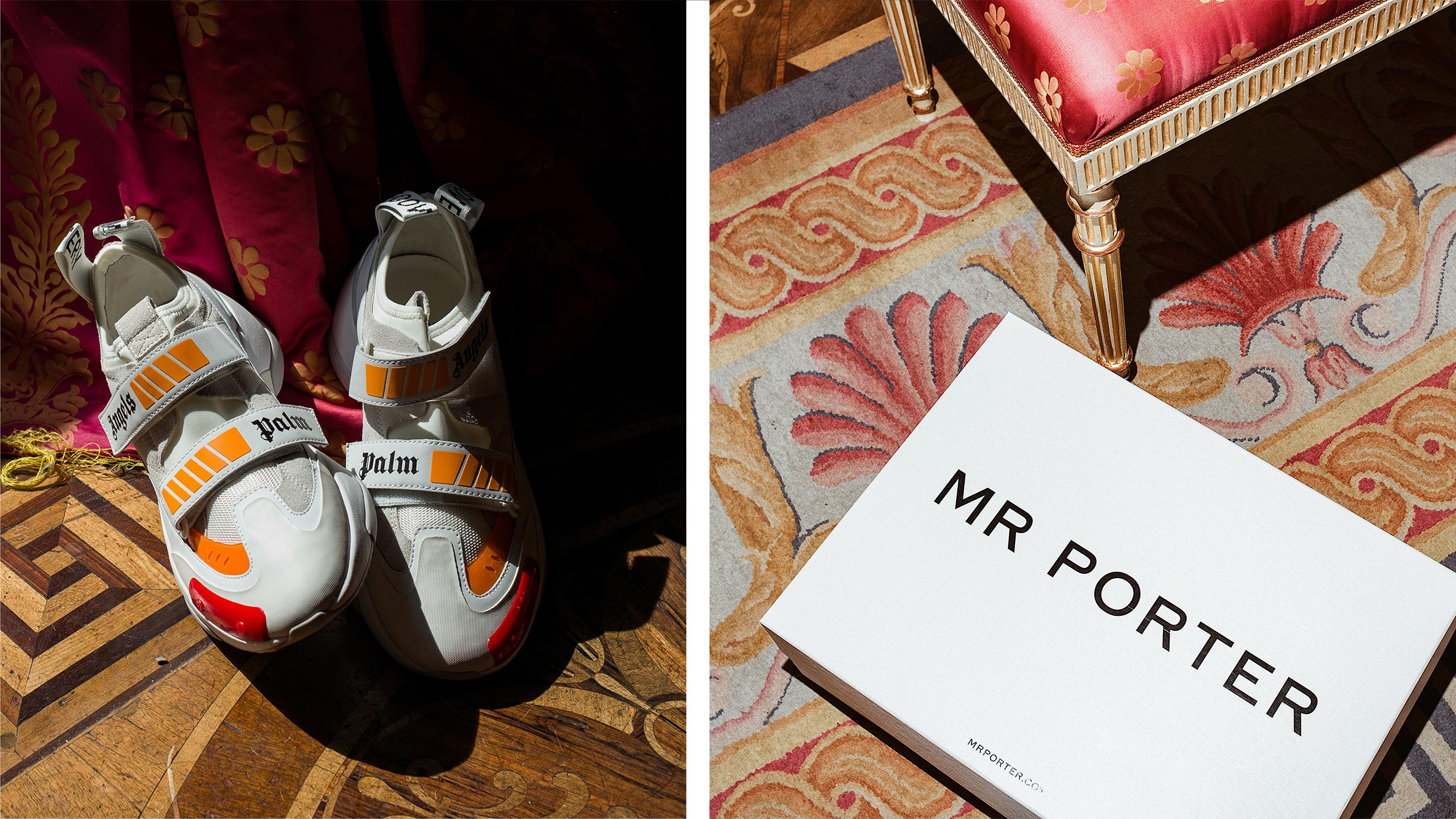 Menswear Guide mit MR PORTER: Palm Angels Sneakers