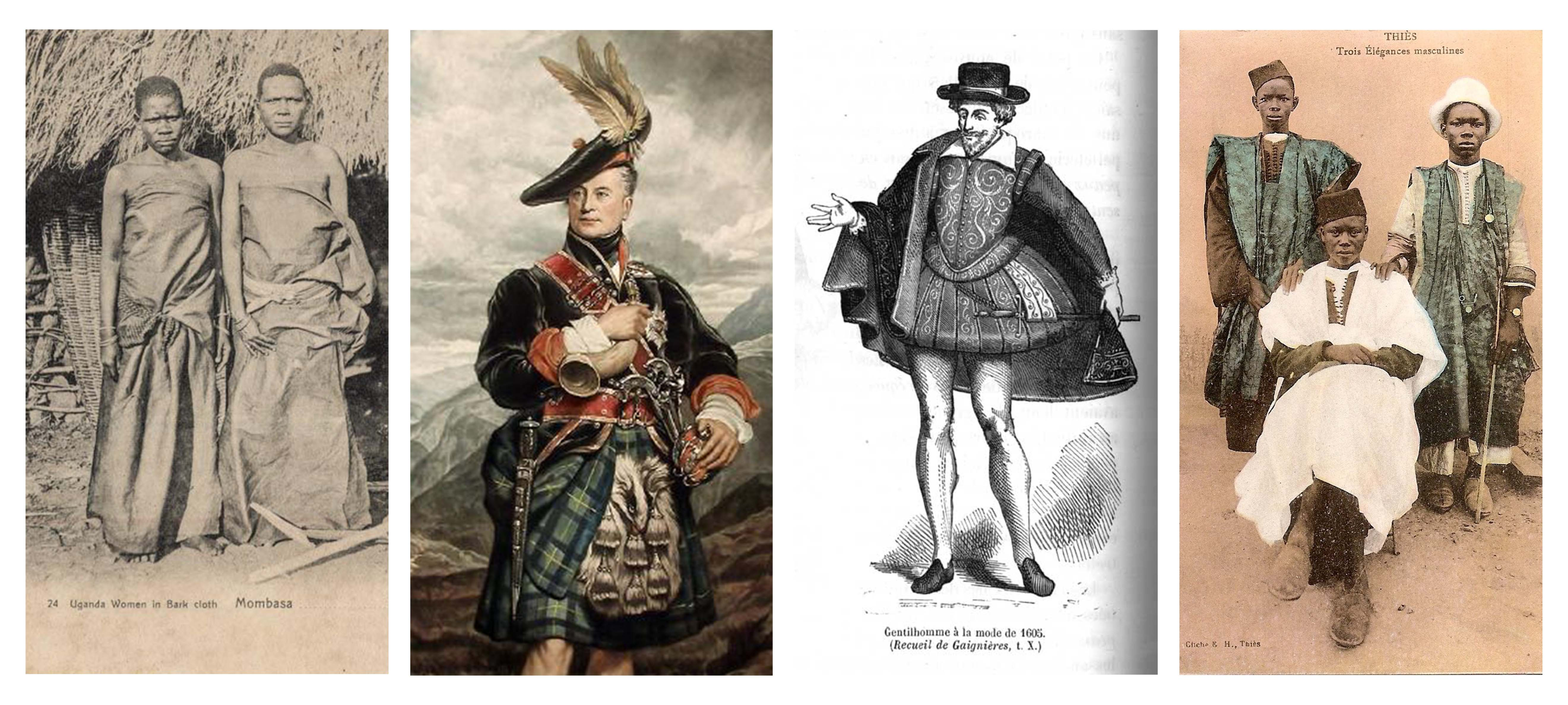 Men in skirts and dresses: The history of unisex clothing