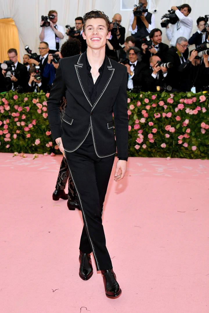 Best dressed men at Met Gala 2019: Shawn Mendes