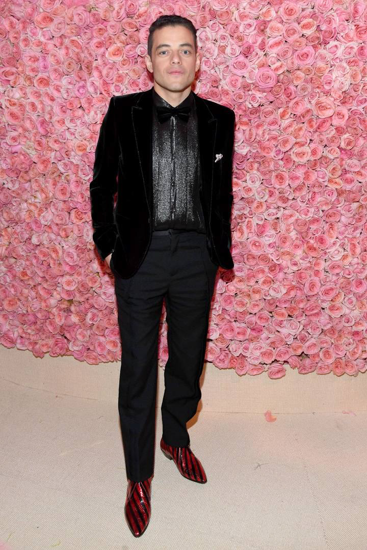 Best dressed men at Met Gala 2019: Rami Malek