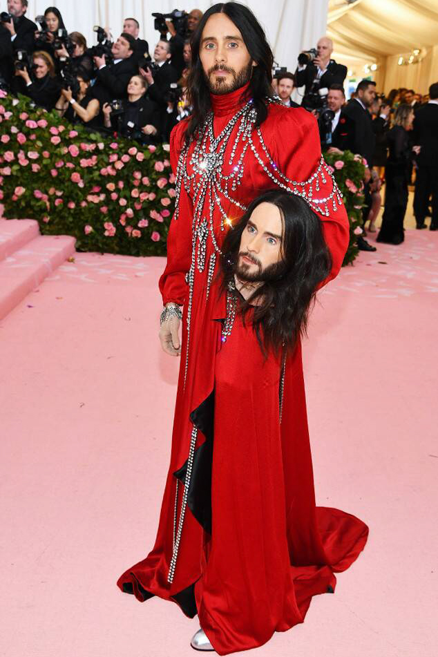 Best dressed men at Met Gala 2019: Jared Leto