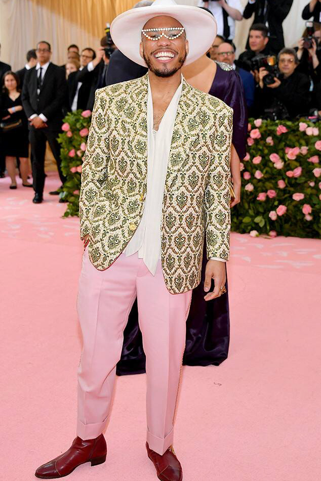 Best dressed men at Met Gala 2019: Anderson Paak
