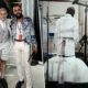 Paris Fashion Week Men's Jean-Claude Mpassy und Thom Browne Backstage at the Thom Browne SS20 Show