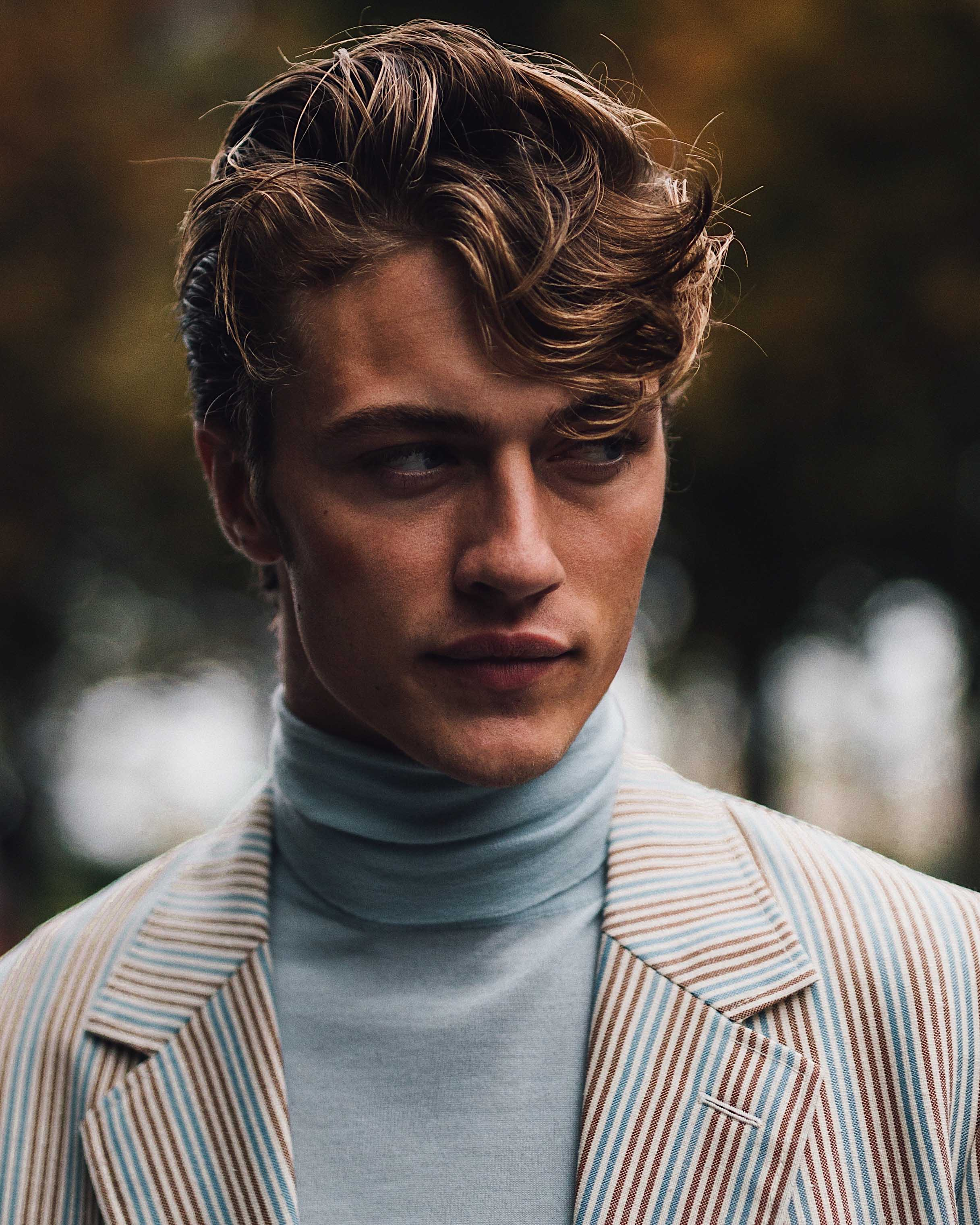 SS20 Paris Fashion Week Street Style: Lucky Blue Smith