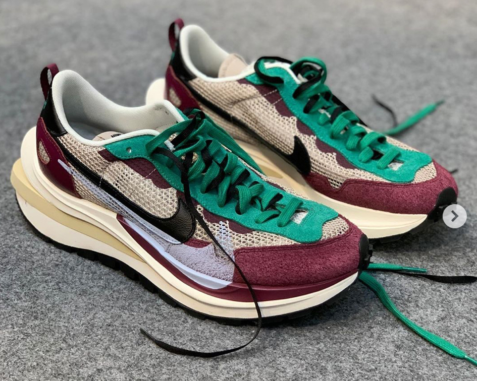 Die besten Sneaker Collaborations der AW20 Men's Fashion Week: Nike X Sacai