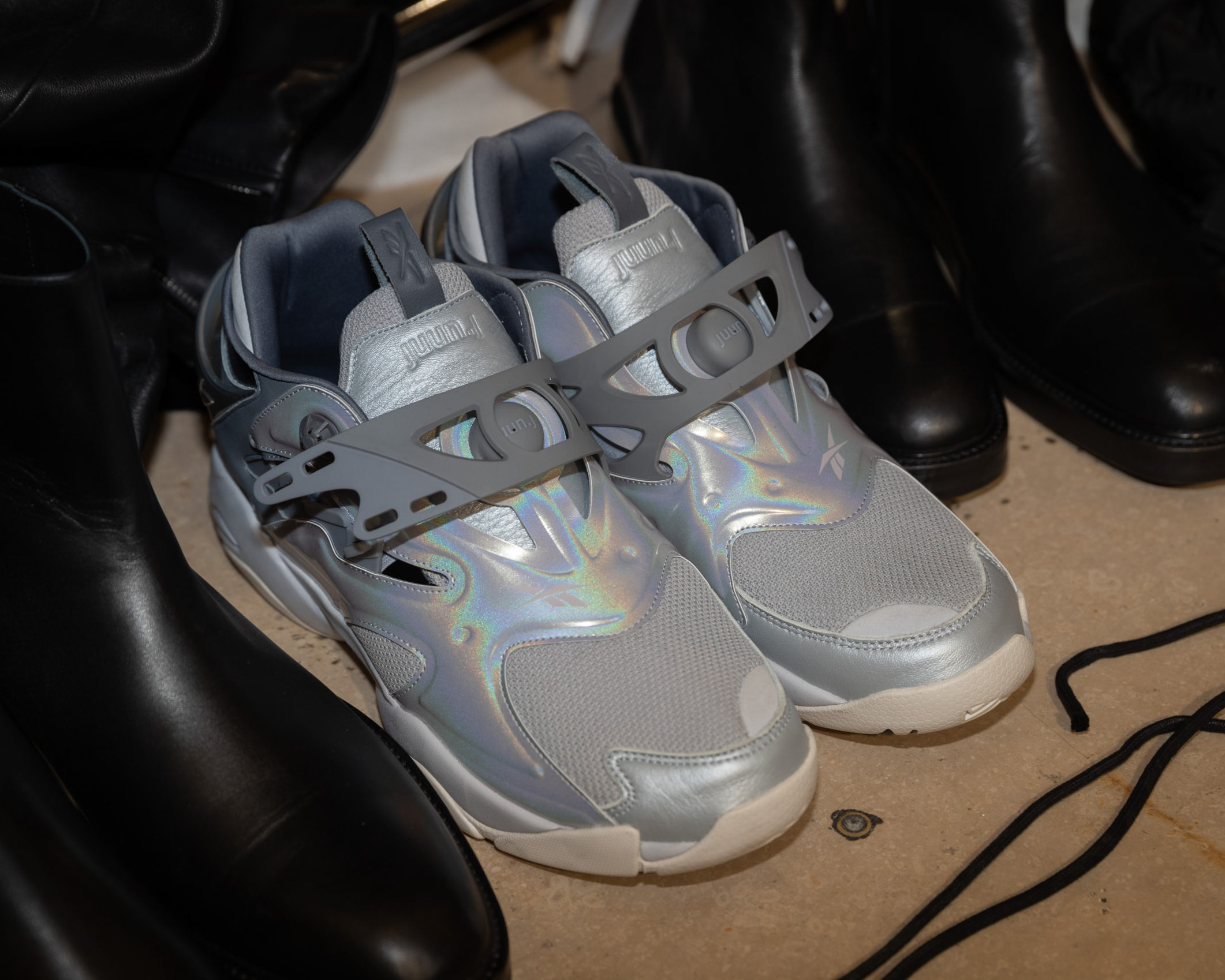 Die besten Sneaker Collaborations der AW20 Men's Fashion Week: Juun.J X Reebok