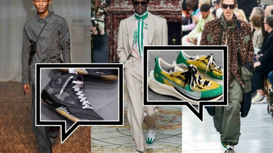 Die besten Sneaker Collaborations der AW20 Men's Fashion Week