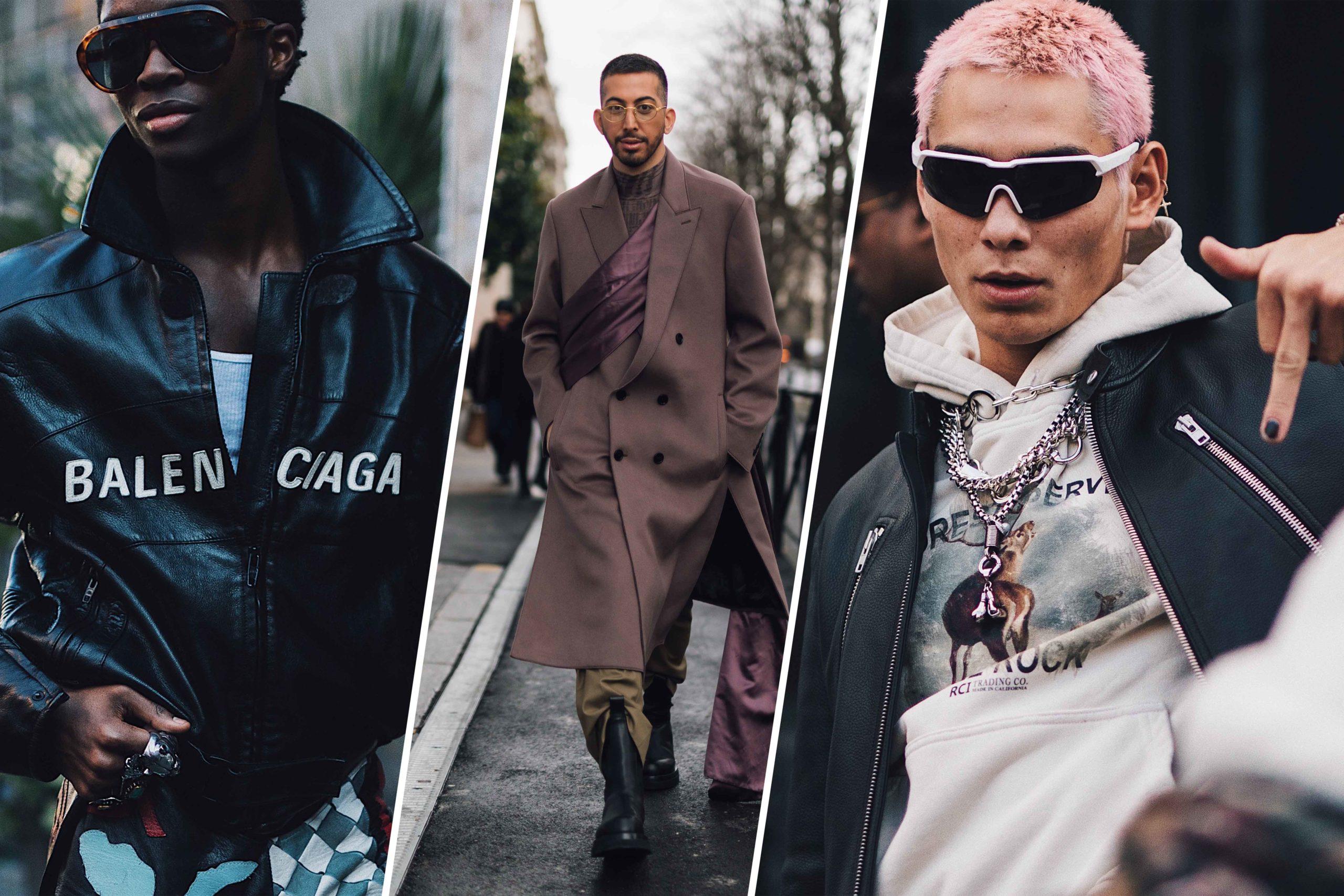Die größten Street Style Trends der Men's Fashion Week